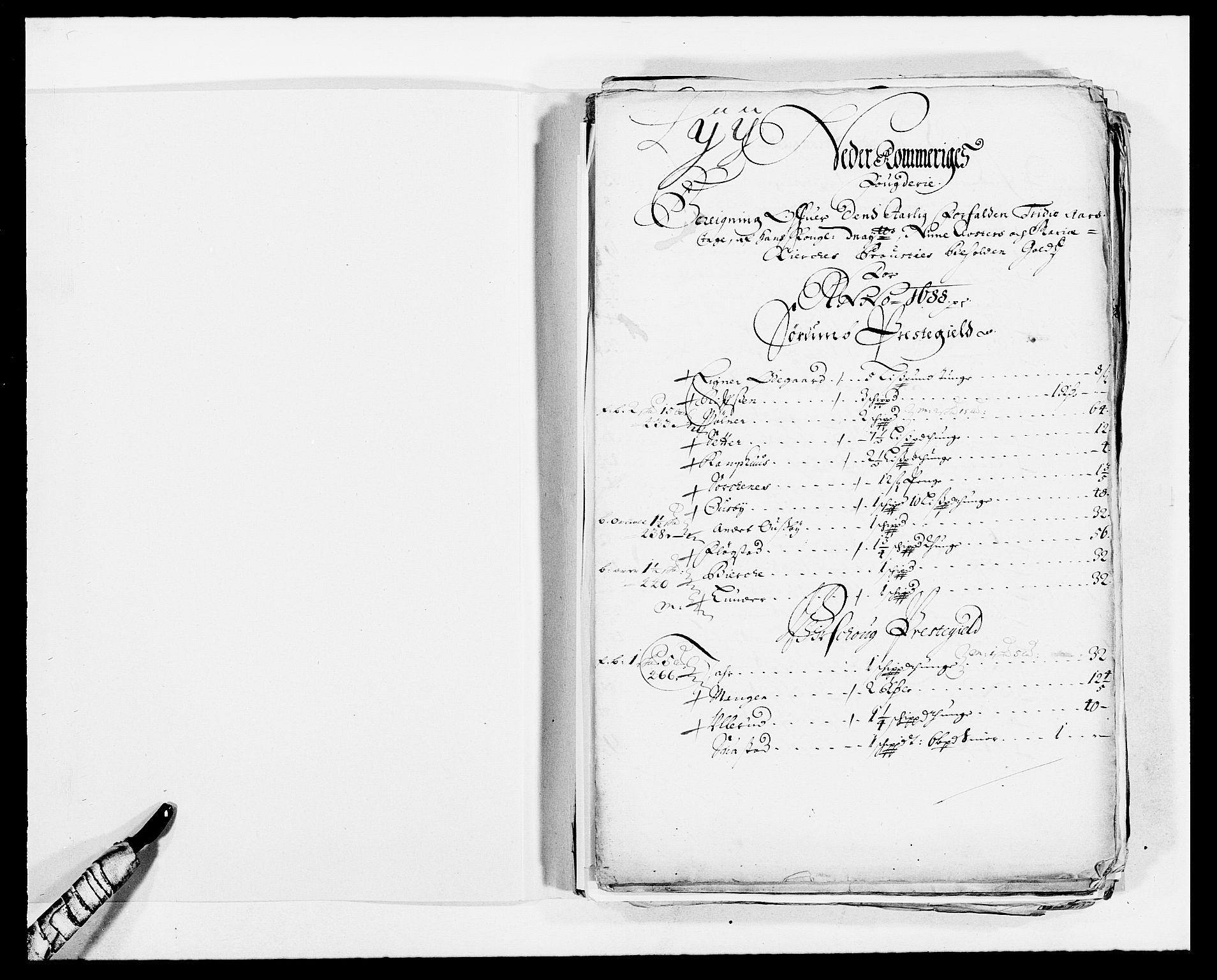 RA, Rentekammeret inntil 1814, Reviderte regnskaper, Fogderegnskap, R11/L0573: Fogderegnskap Nedre Romerike, 1679-1688, s. 2