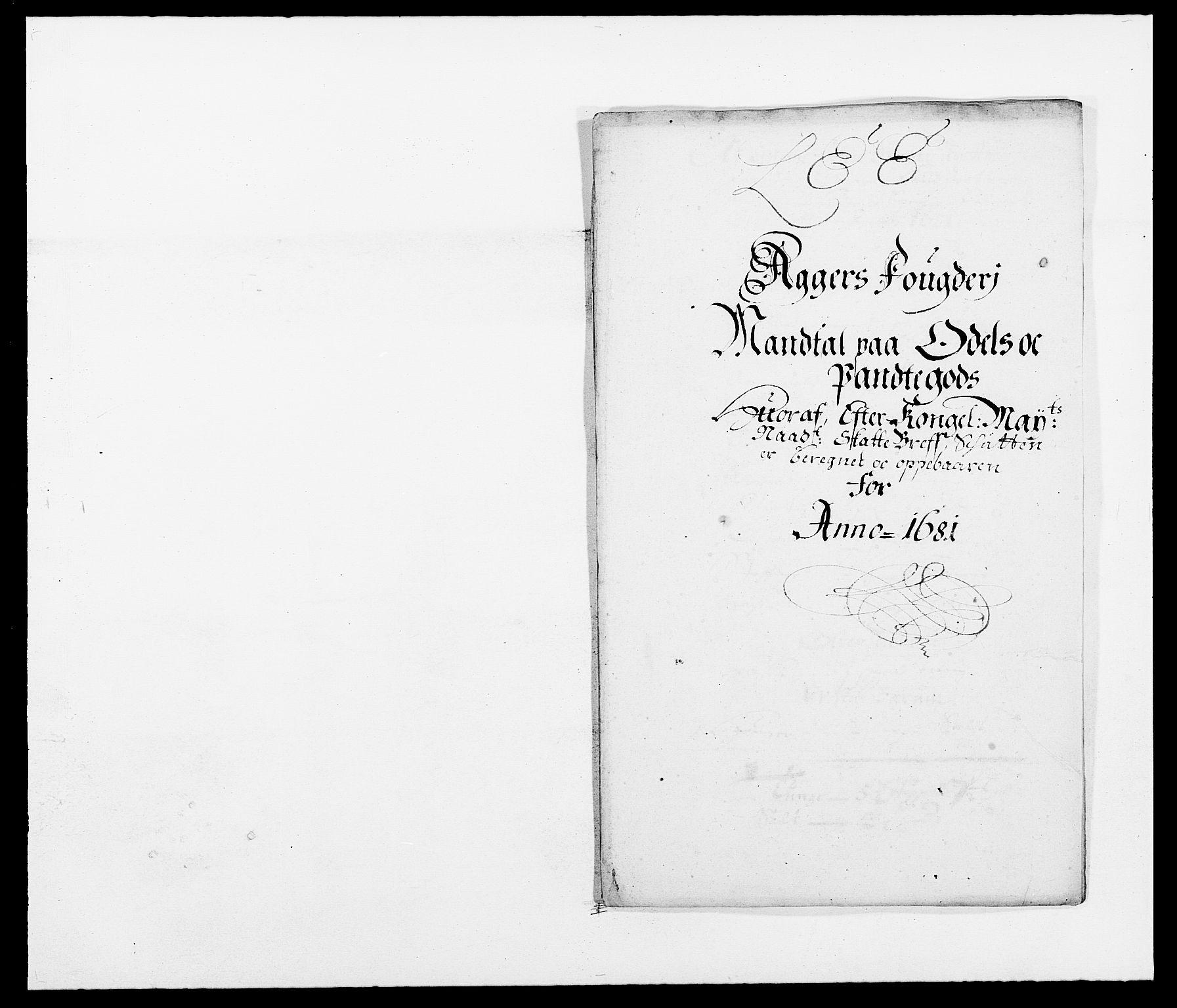 RA, Rentekammeret inntil 1814, Reviderte regnskaper, Fogderegnskap, R08/L0417: Fogderegnskap Aker, 1678-1681, s. 249