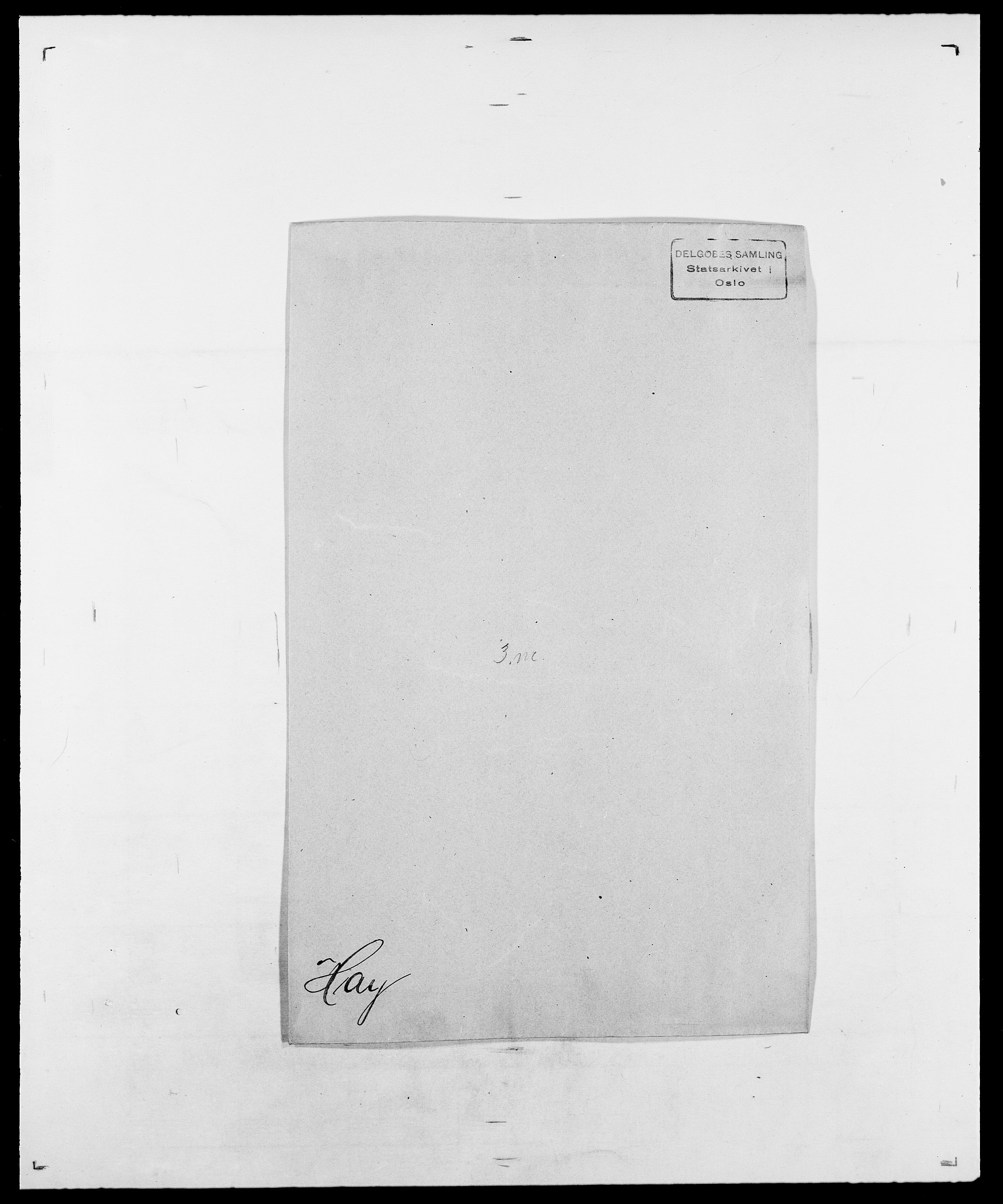 SAO, Delgobe, Charles Antoine - samling, D/Da/L0016: Hamborg - Hektoen, s. 640