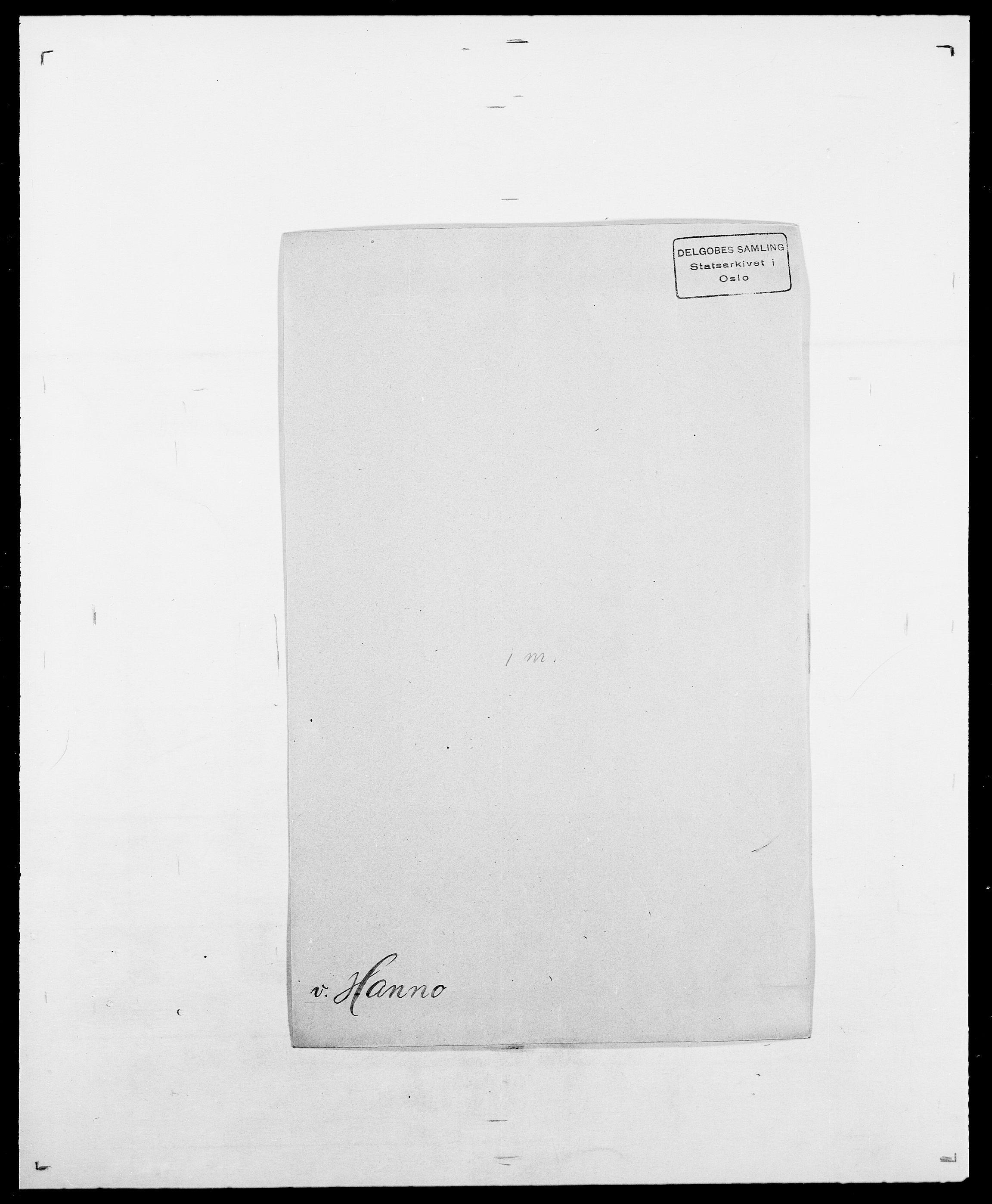 SAO, Delgobe, Charles Antoine - samling, D/Da/L0016: Hamborg - Hektoen, s. 132