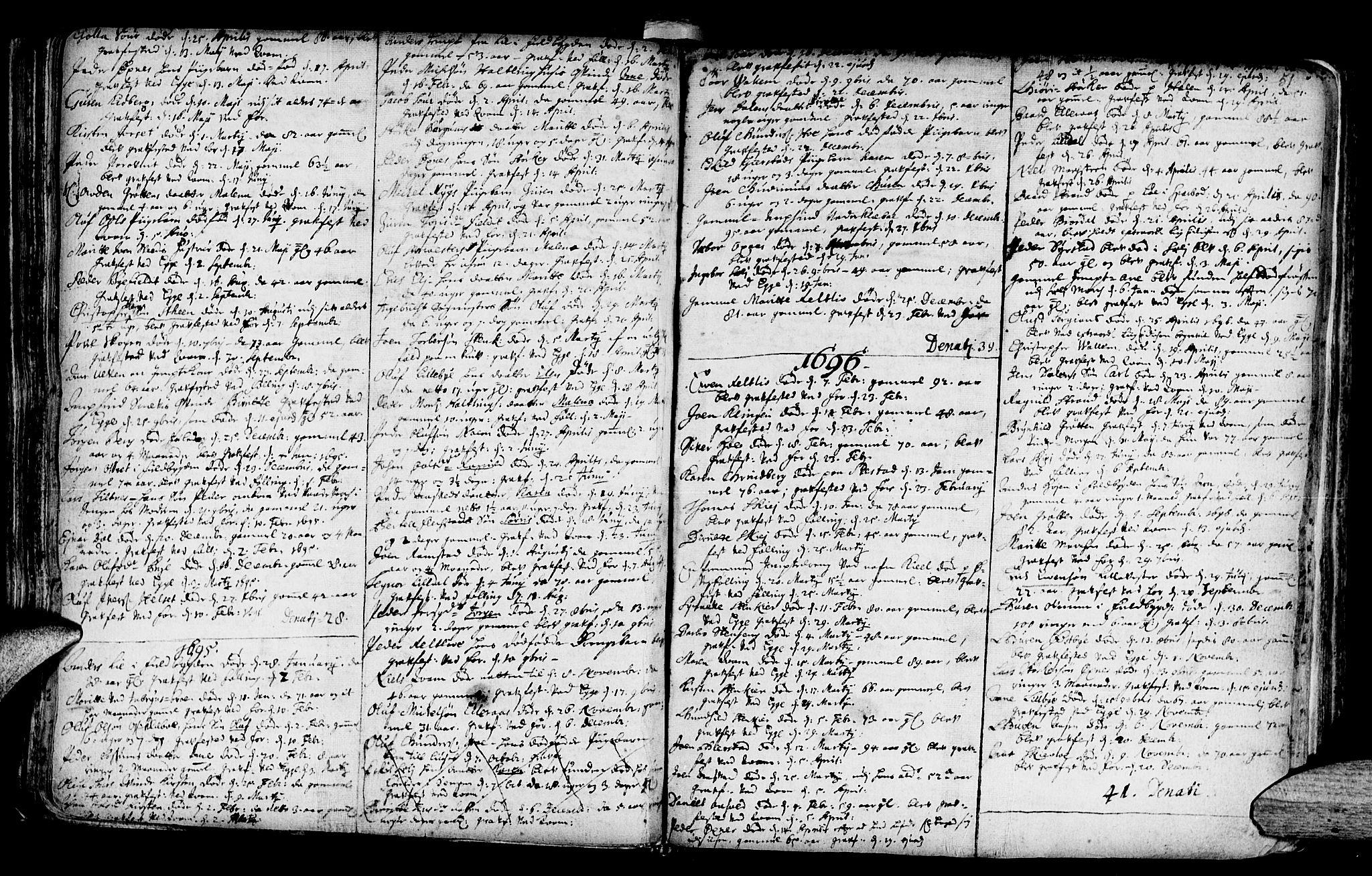SAT, Ministerialprotokoller, klokkerbøker og fødselsregistre - Nord-Trøndelag, 746/L0439: Ministerialbok nr. 746A01, 1688-1759, s. 51