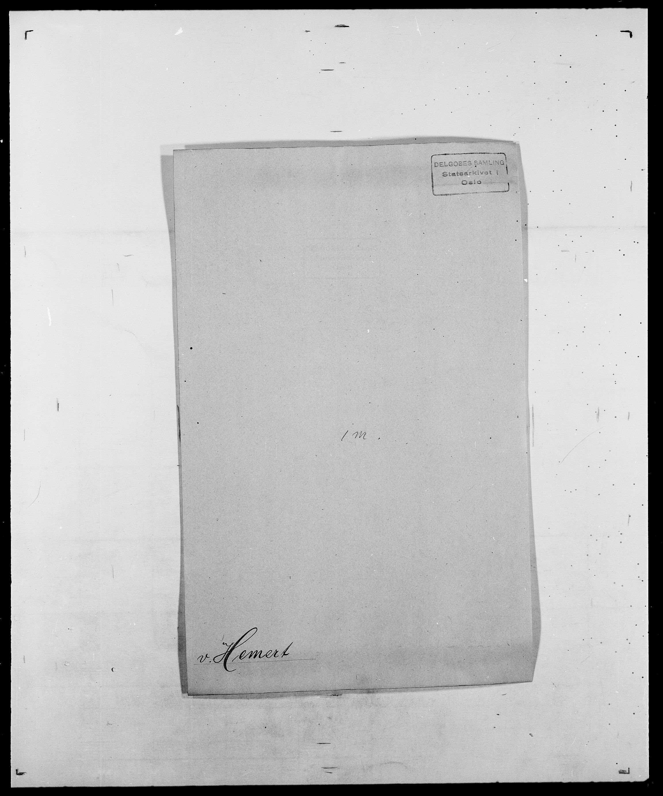 SAO, Delgobe, Charles Antoine - samling, D/Da/L0017: Helander - Hjørne, s. 149