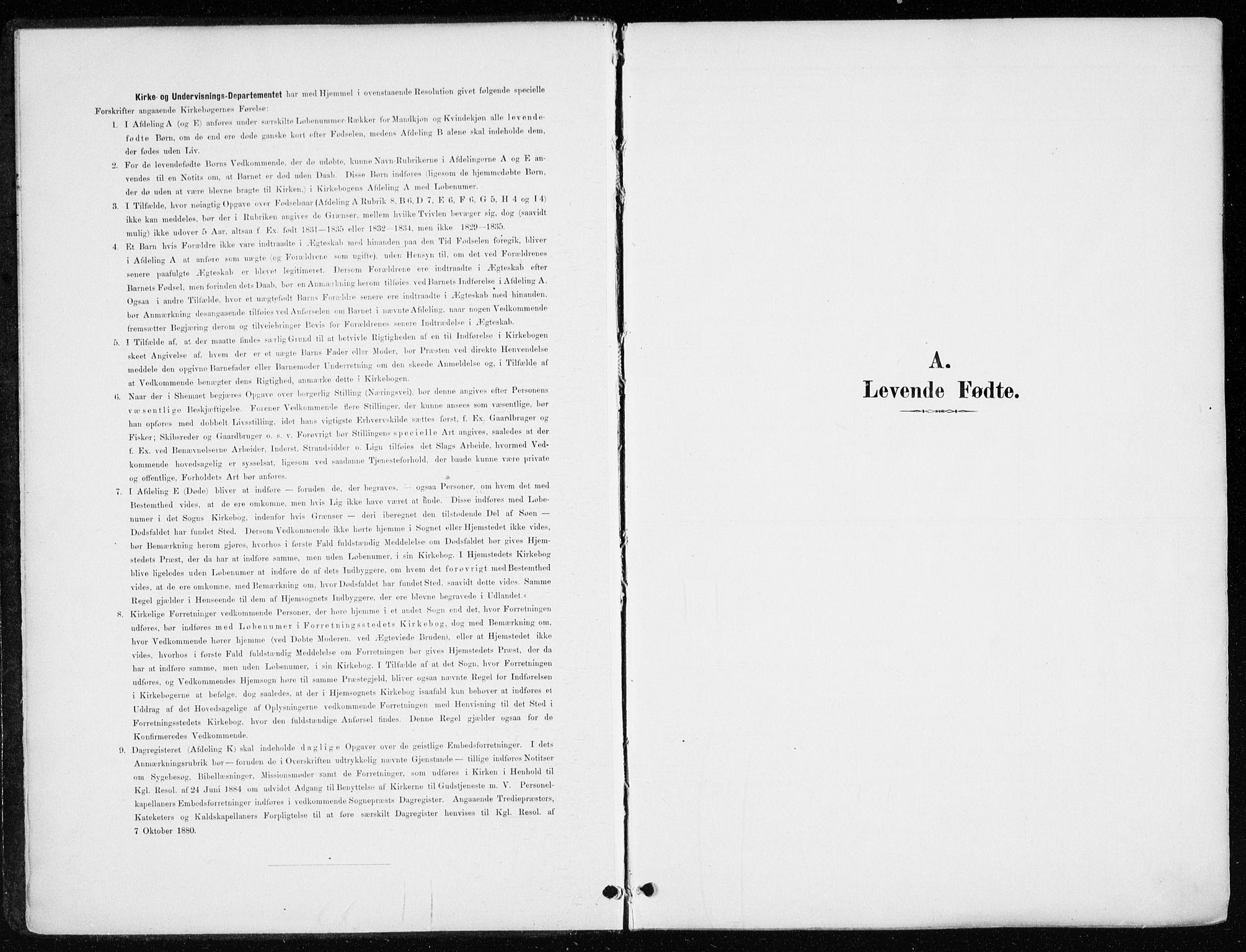 SAH, Løten prestekontor, K/Ka/L0010: Ministerialbok nr. 10, 1892-1907