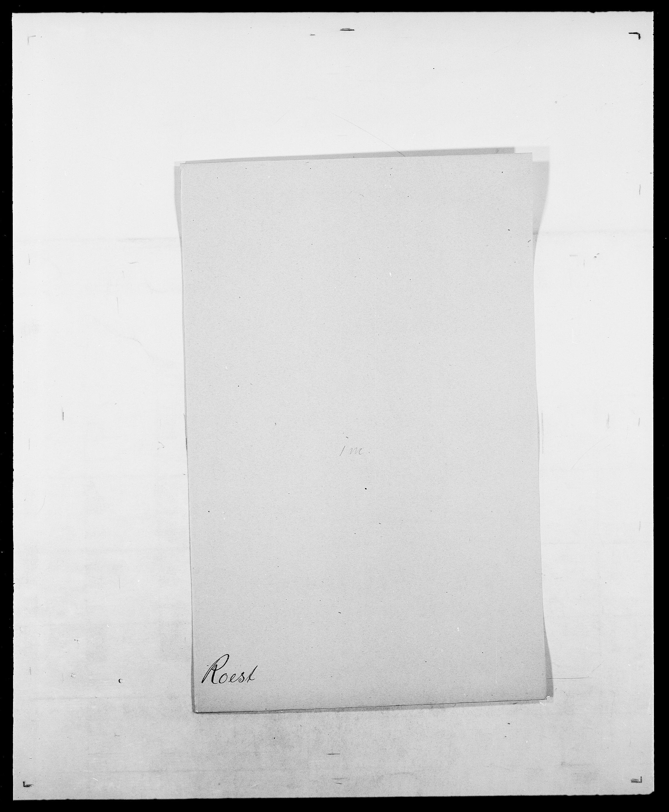 SAO, Delgobe, Charles Antoine - samling, D/Da/L0033: Roald - Røyem, s. 70