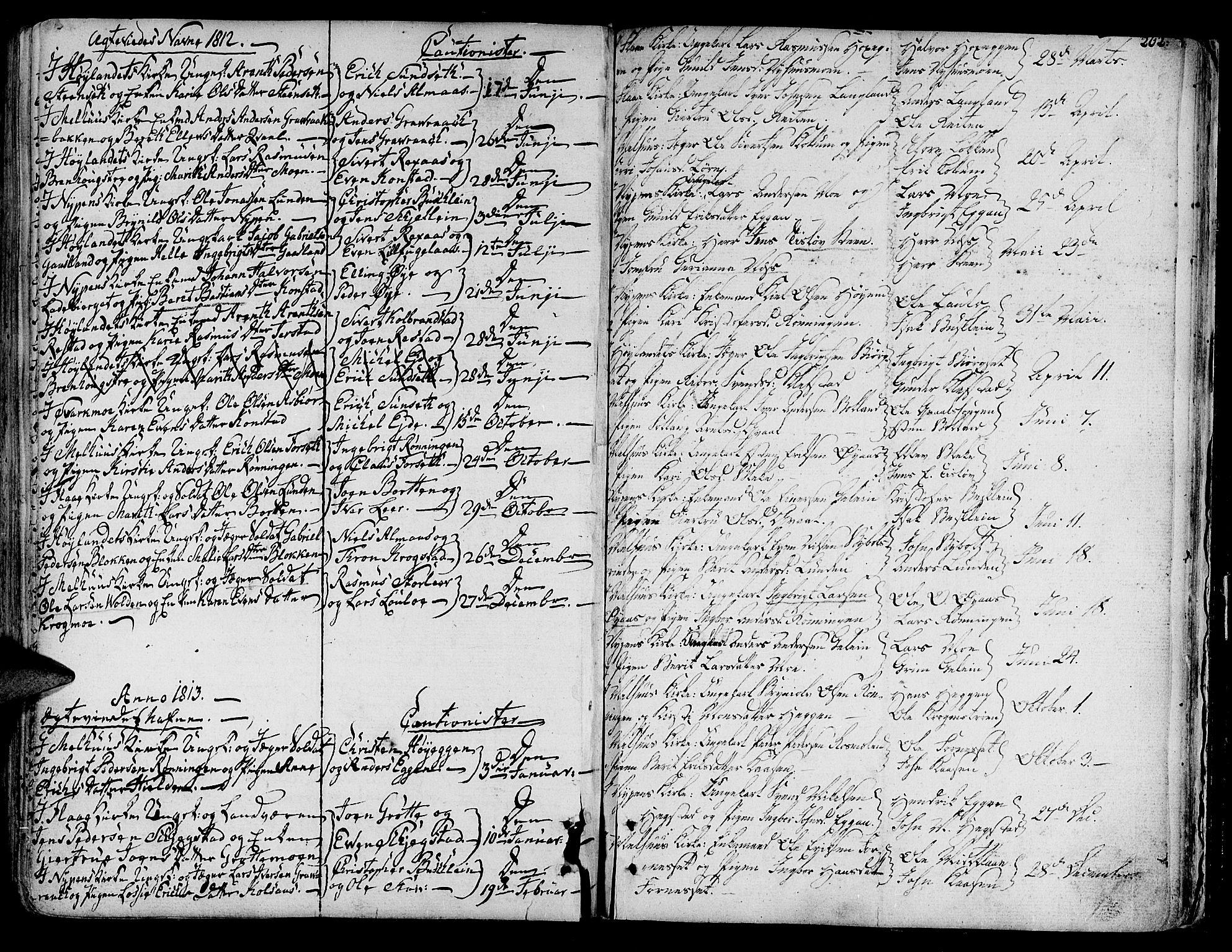 SAT, Ministerialprotokoller, klokkerbøker og fødselsregistre - Sør-Trøndelag, 691/L1061: Ministerialbok nr. 691A02 /1, 1768-1815, s. 202