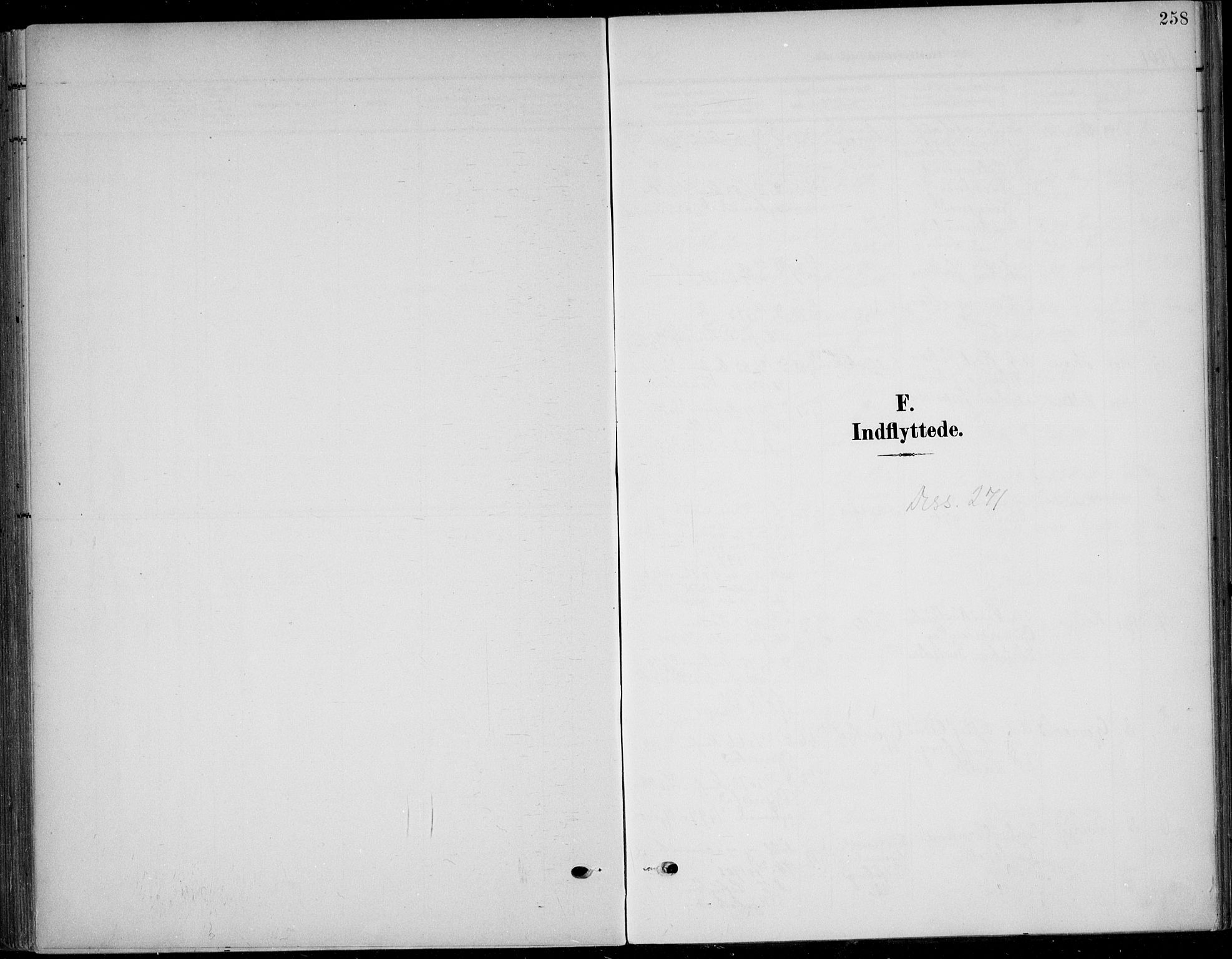 SAKO, Solum kirkebøker, F/Fb/L0003: Ministerialbok nr. II 3, 1901-1912, s. 258