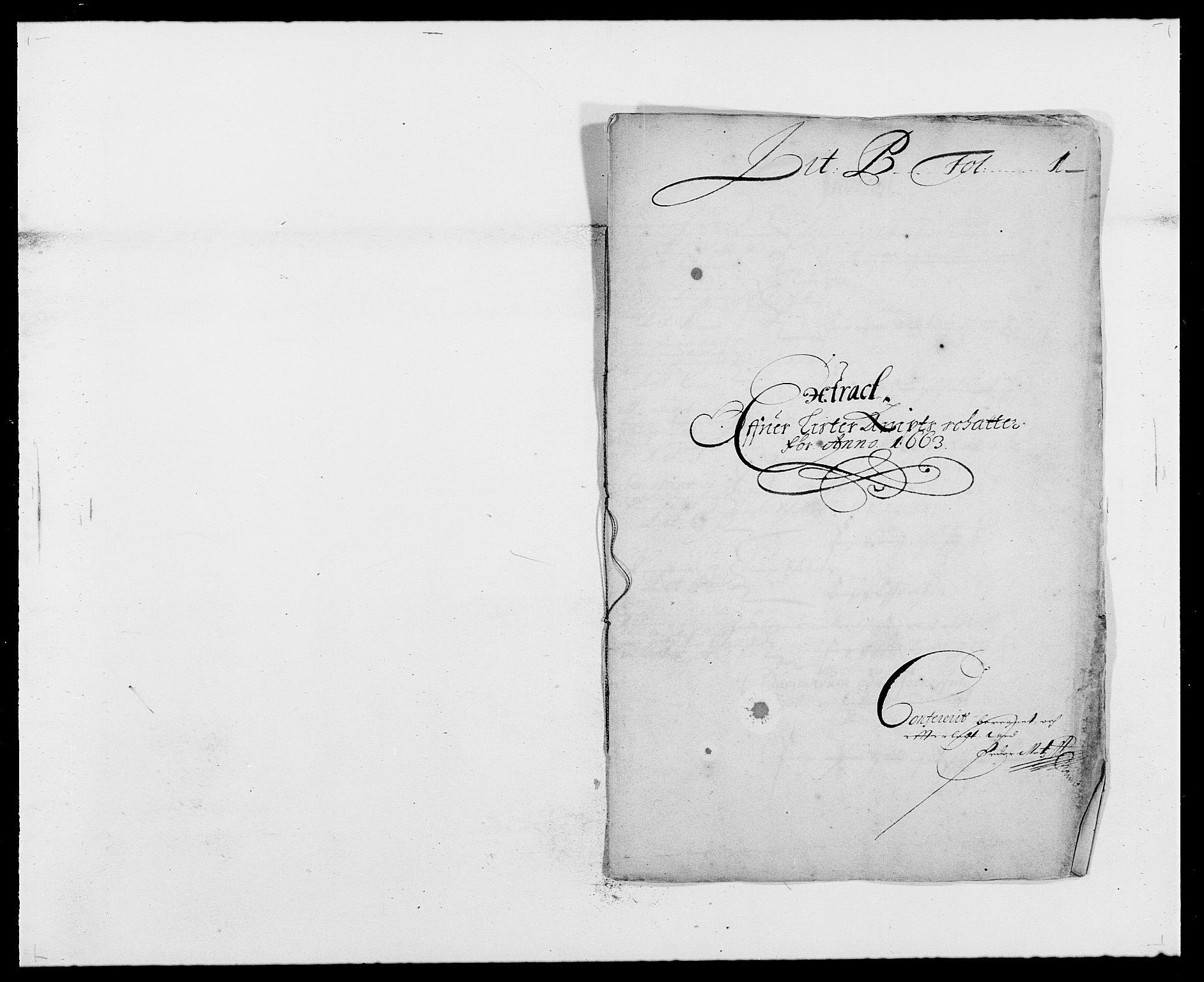 RA, Rentekammeret inntil 1814, Reviderte regnskaper, Fogderegnskap, R41/L2523: Fogderegnskap Lista, 1663-1664, s. 16