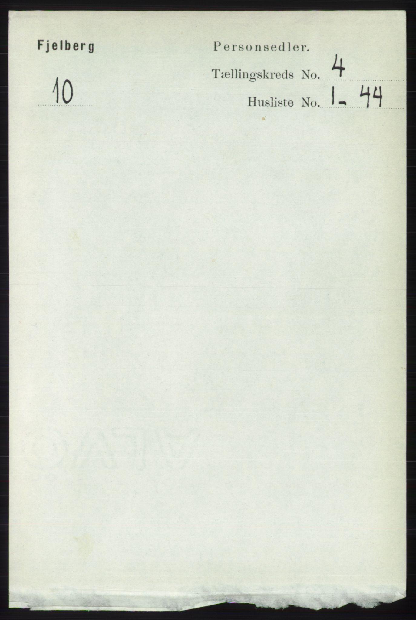 RA, Folketelling 1891 for 1213 Fjelberg herred, 1891, s. 1170