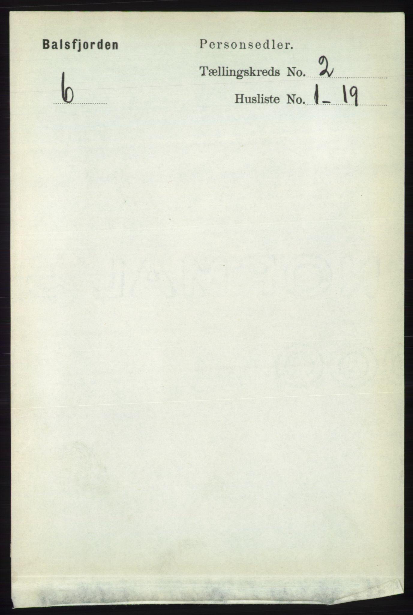 RA, Folketelling 1891 for 1933 Balsfjord herred, 1891, s. 518