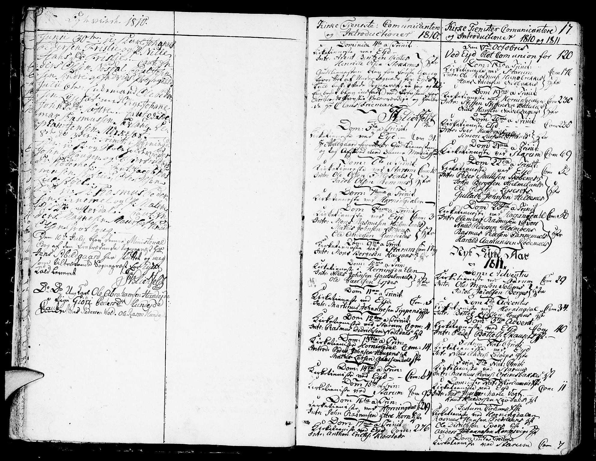 SAB, Eid Sokneprestembete, H/Haa: Ministerialbok nr. A 4, 1806-1815, s. 17