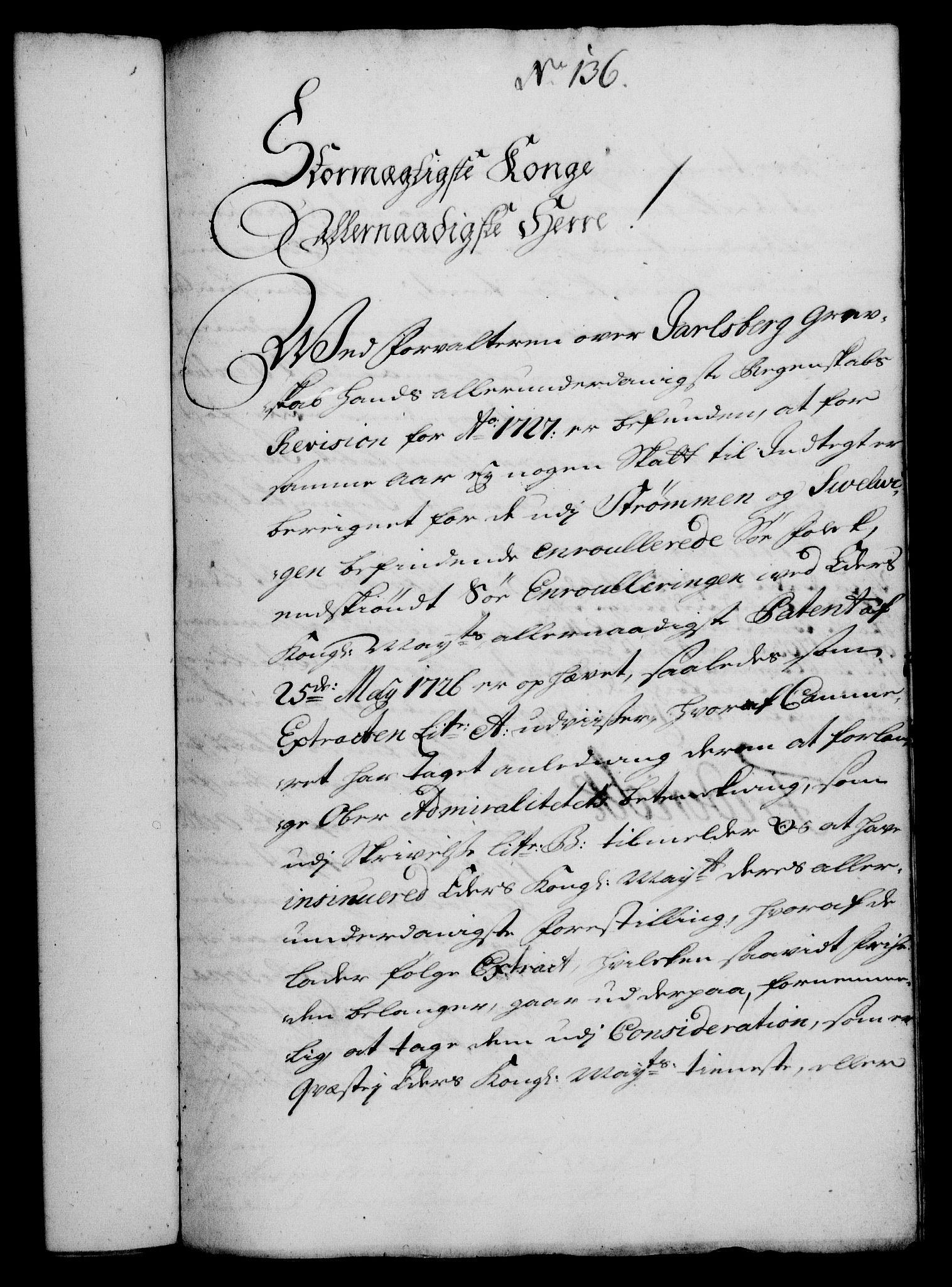 RA, Rentekammeret, Kammerkanselliet, G/Gf/Gfa/L0012: Norsk relasjons- og resolusjonsprotokoll (merket RK 52.12), 1729, s. 736