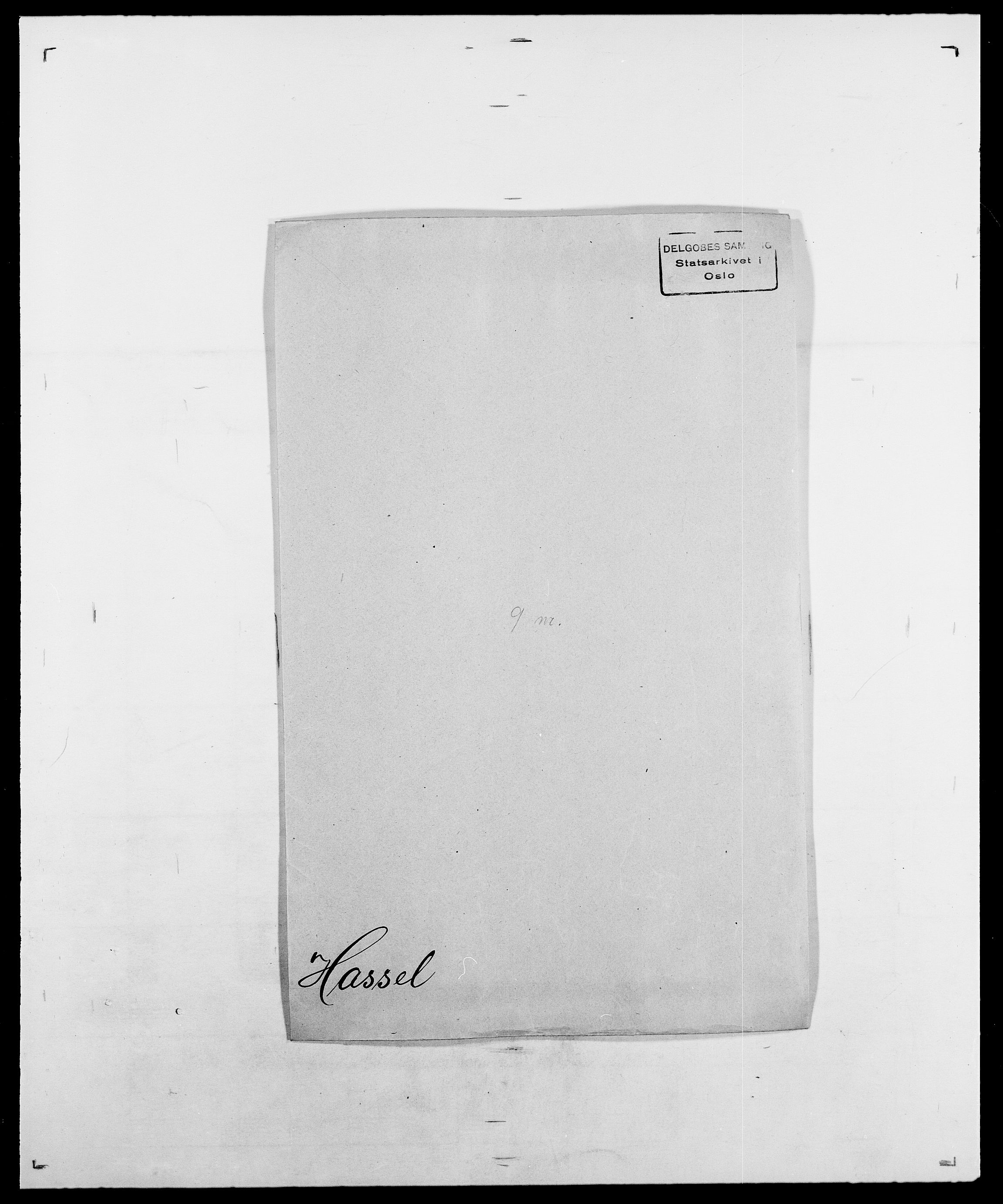 SAO, Delgobe, Charles Antoine - samling, D/Da/L0016: Hamborg - Hektoen, s. 518