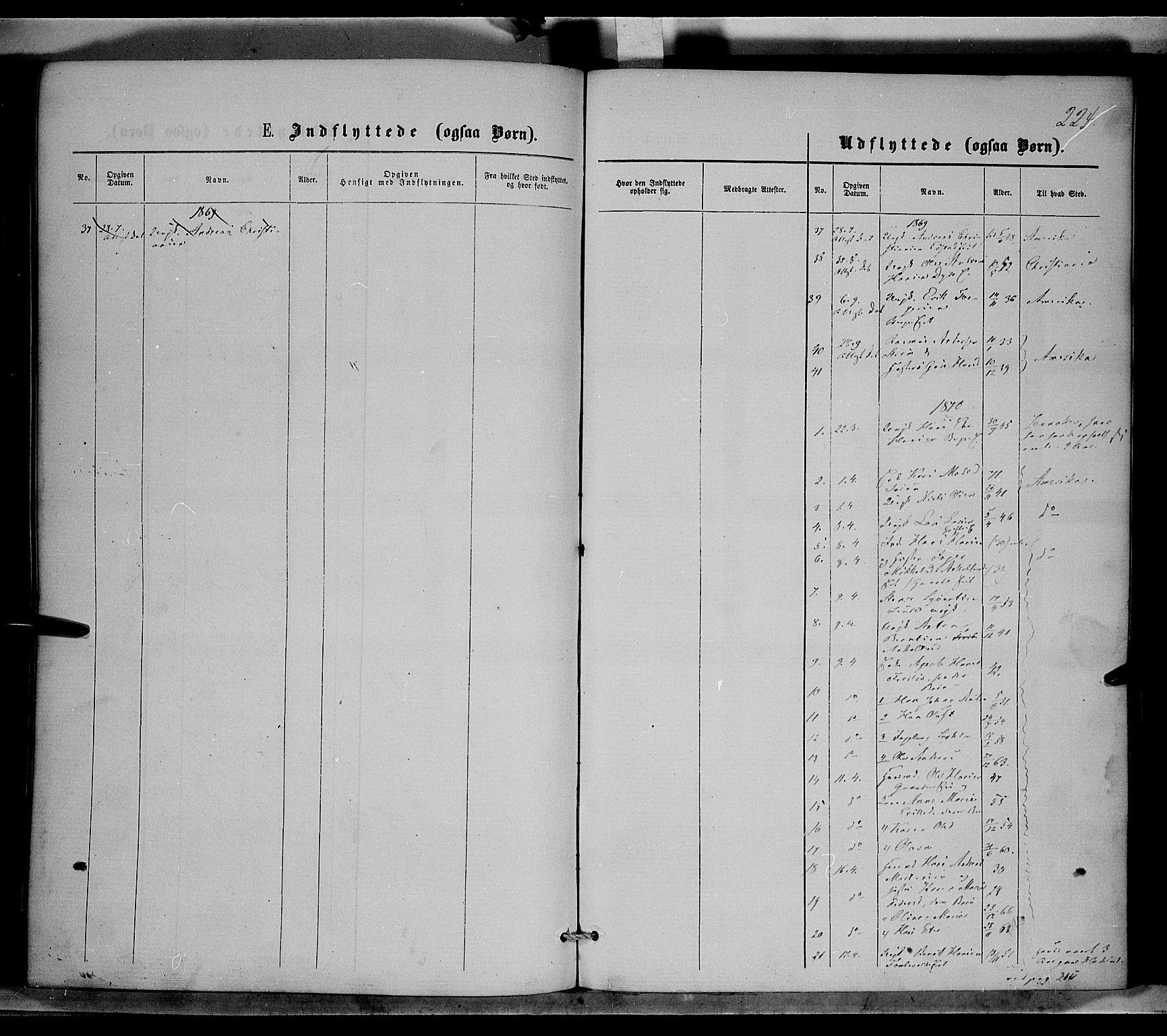SAH, Nordre Land prestekontor, Ministerialbok nr. 1, 1860-1871, s. 224
