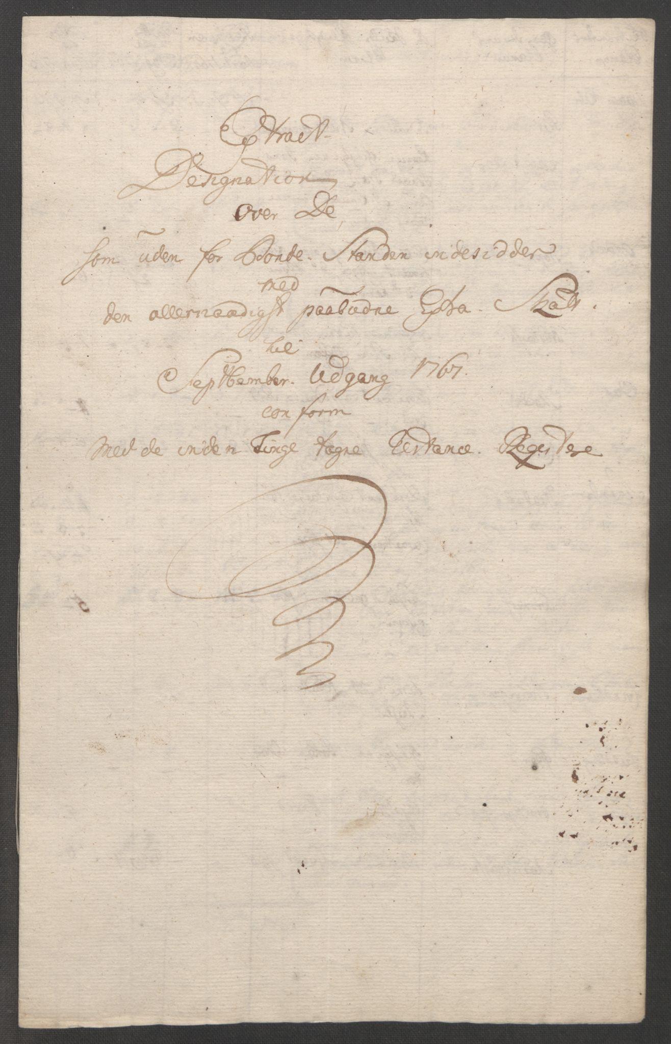 RA, Rentekammeret inntil 1814, Reviderte regnskaper, Fogderegnskap, R48/L3136: Ekstraskatten Sunnhordland og Hardanger, 1762-1772, s. 233