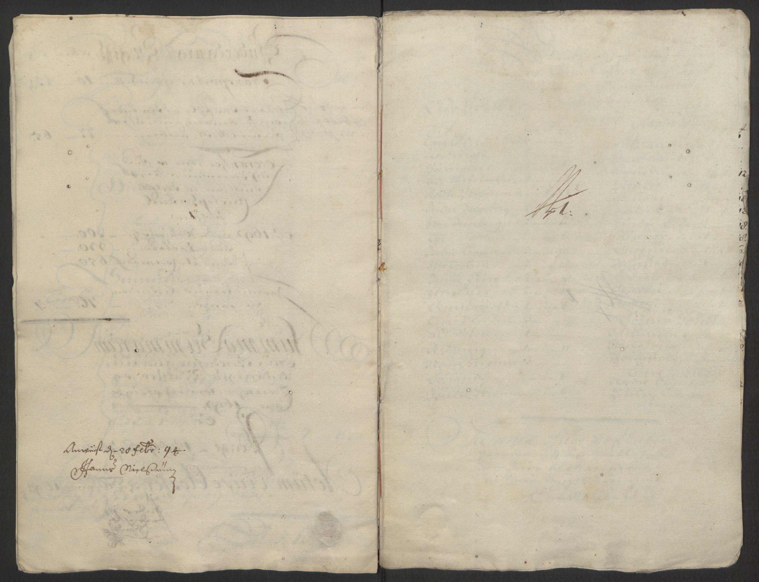 RA, Rentekammeret inntil 1814, Reviderte regnskaper, Fogderegnskap, R50/L3159: Fogderegnskap Lyse kloster, 1691-1709, s. 21