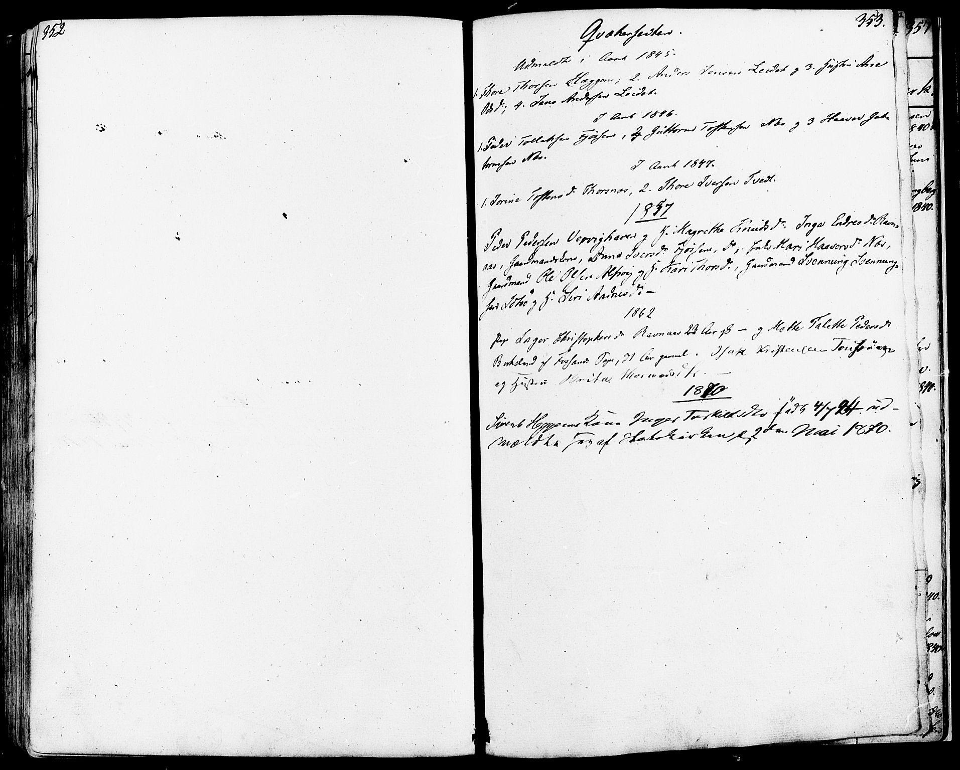SAST, Strand sokneprestkontor, H/Ha/Haa/L0006: Ministerialbok nr. A 6, 1834-1854, s. 352-353