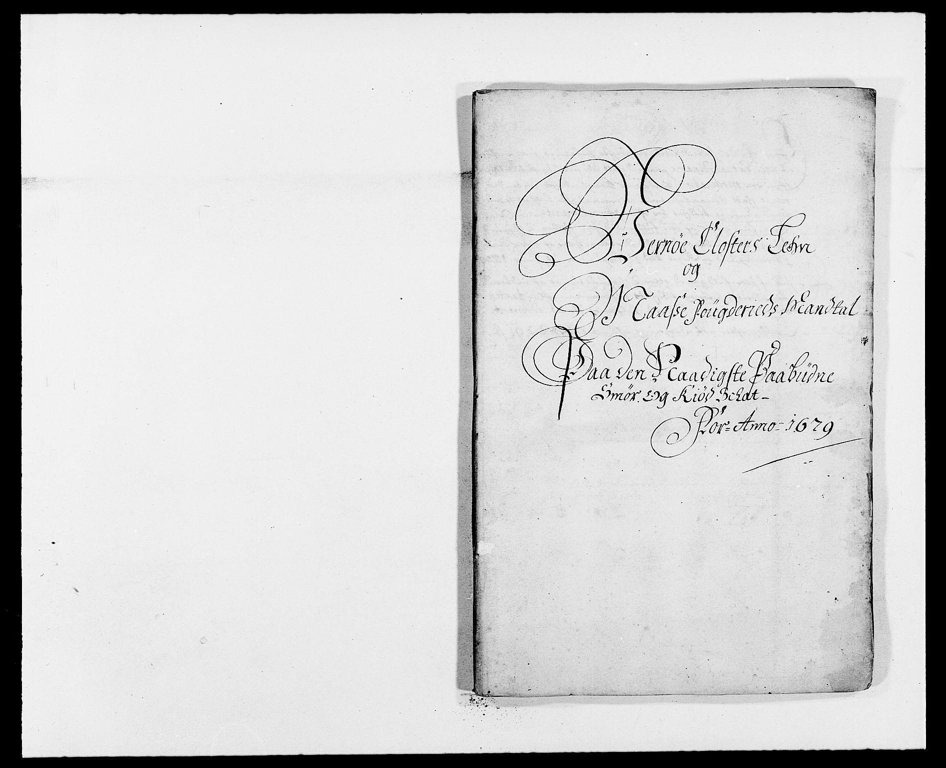 RA, Rentekammeret inntil 1814, Reviderte regnskaper, Fogderegnskap, R02/L0100: Fogderegnskap Moss og Verne kloster, 1679, s. 188