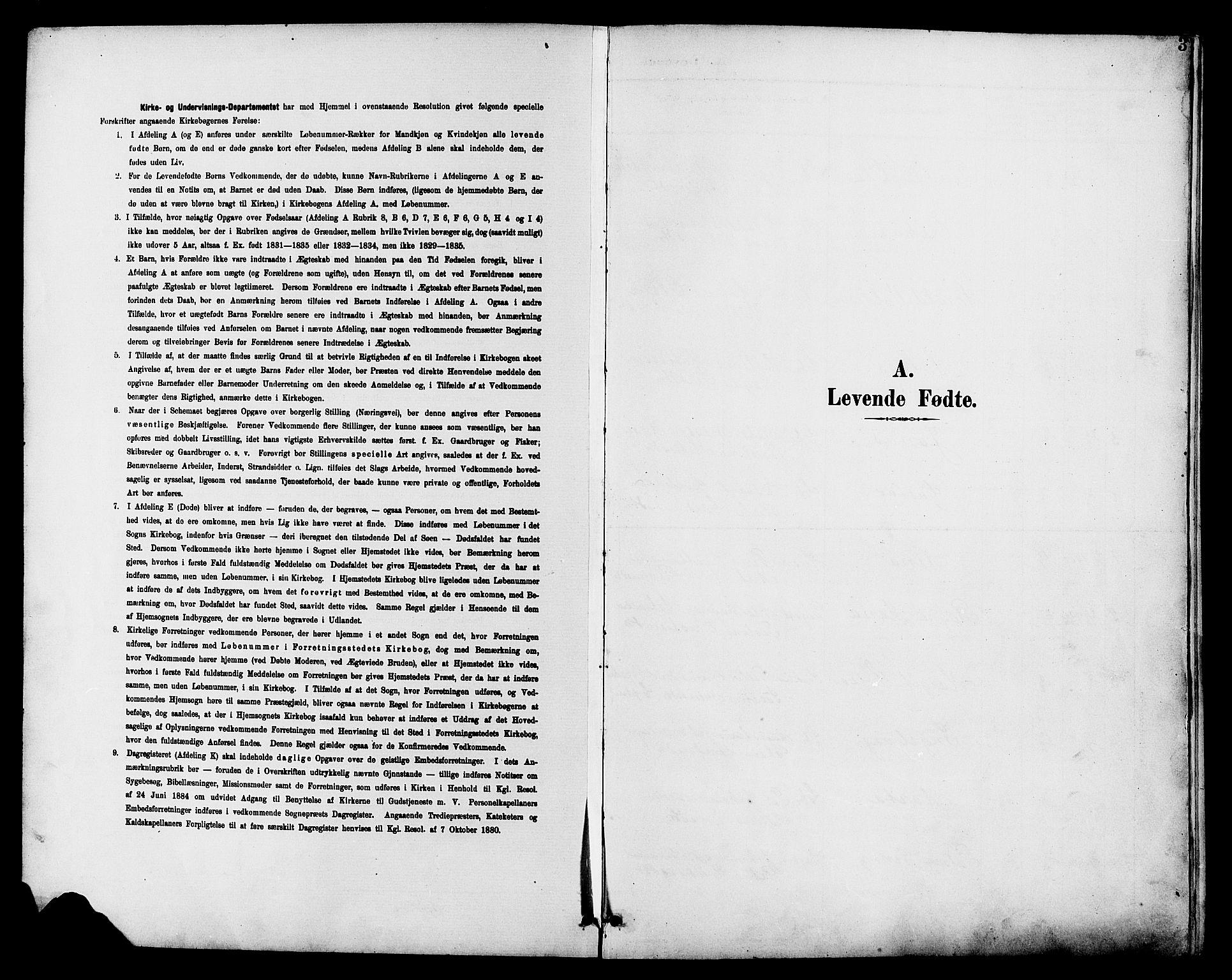 SAH, Vestre Toten prestekontor, H/Ha/Hab/L0011: Klokkerbok nr. 11, 1901-1911, s. 3