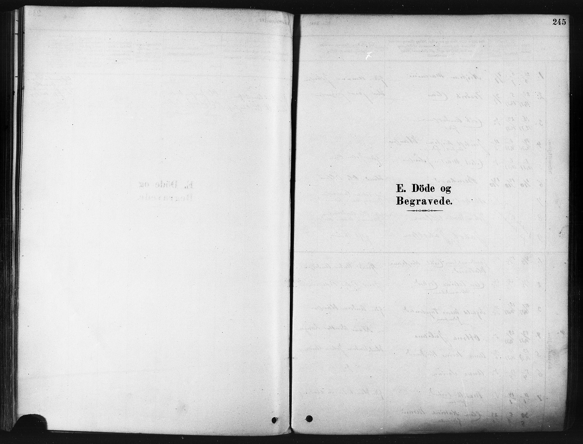 SATØ, Tranøy sokneprestkontor, I/Ia/Iaa/L0009kirke: Ministerialbok nr. 9, 1878-1904, s. 245