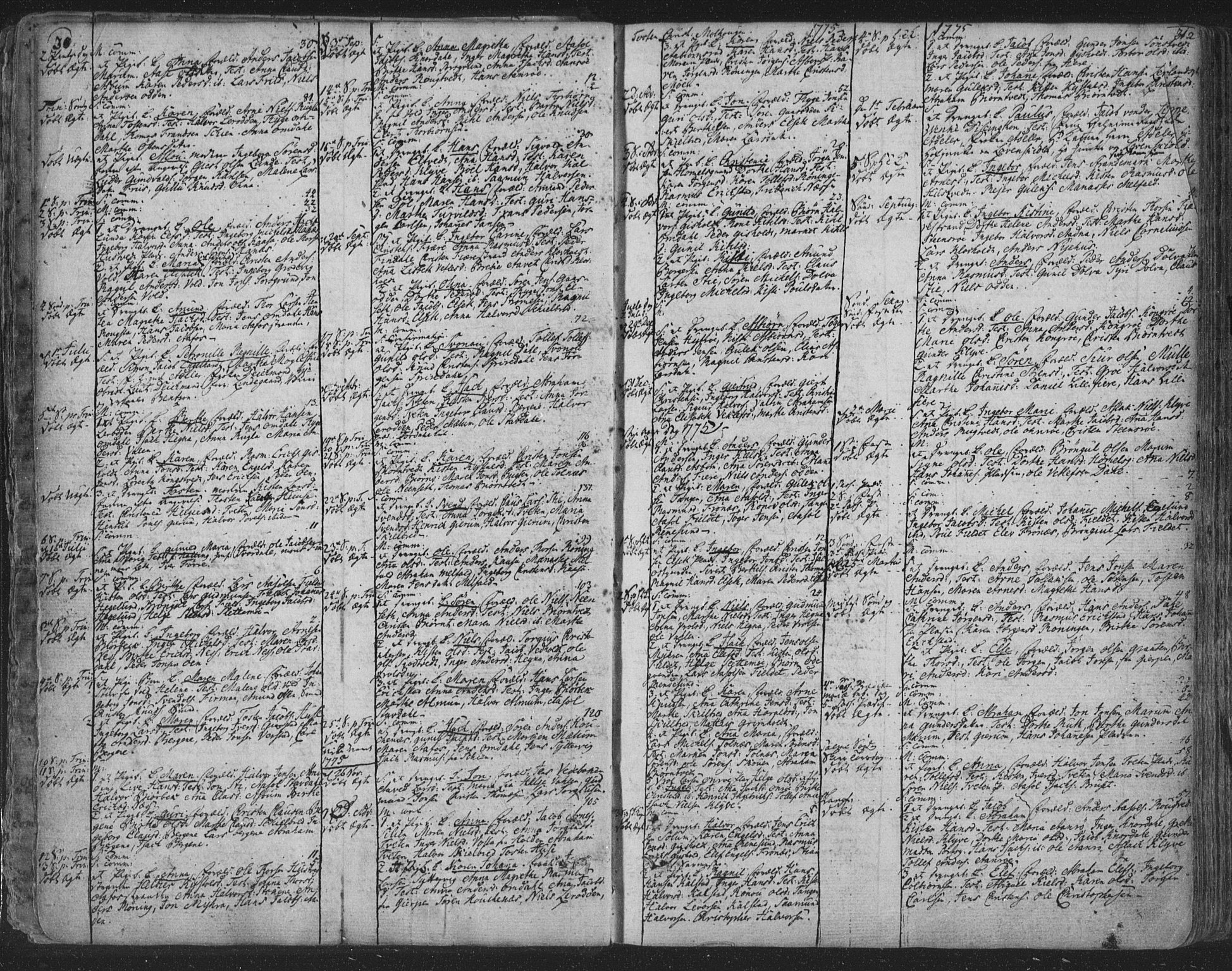 SAKO, Solum kirkebøker, F/Fa/L0003: Ministerialbok nr. I 3, 1761-1814, s. 30-31