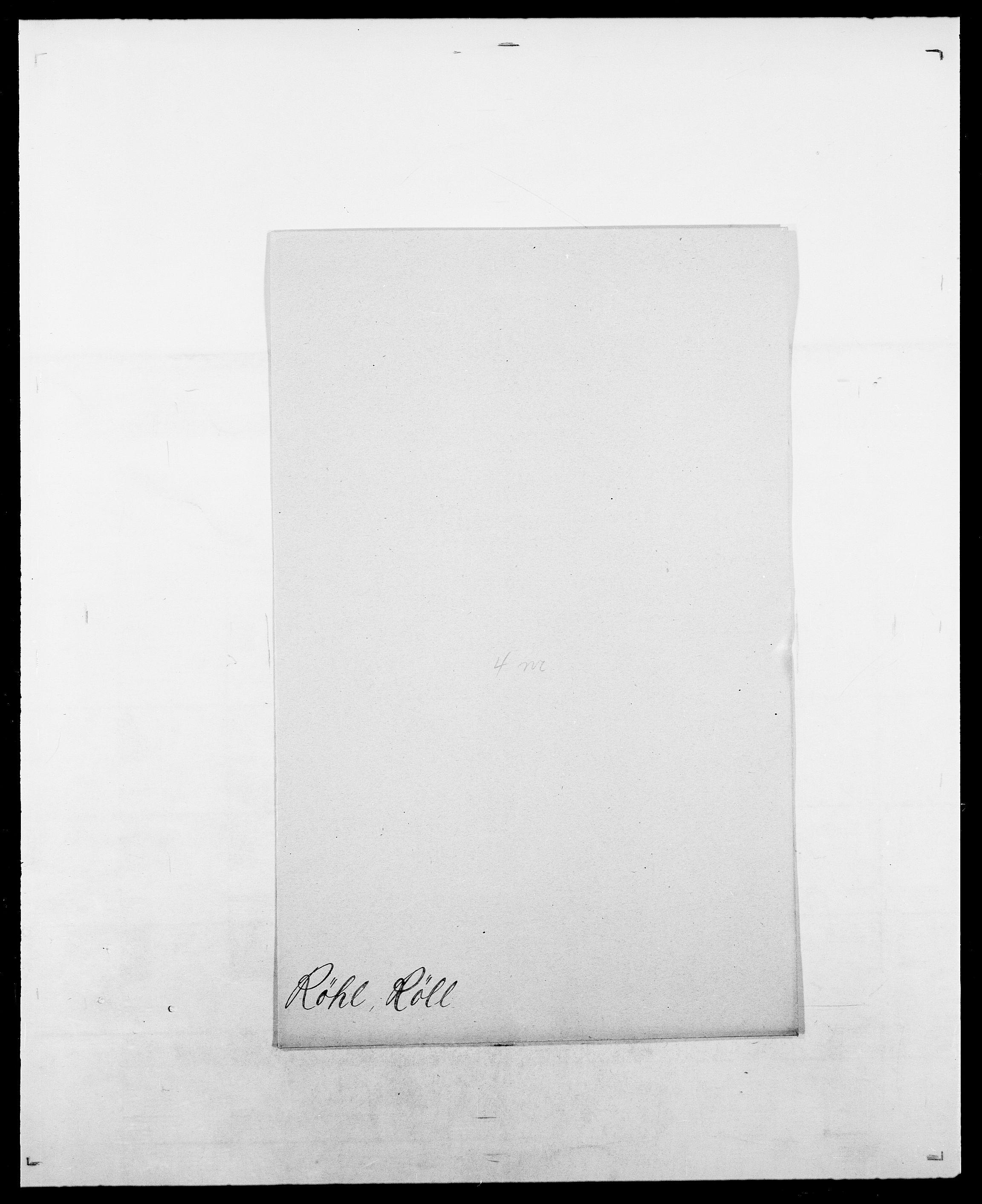 SAO, Delgobe, Charles Antoine - samling, D/Da/L0033: Roald - Røyem, s. 699