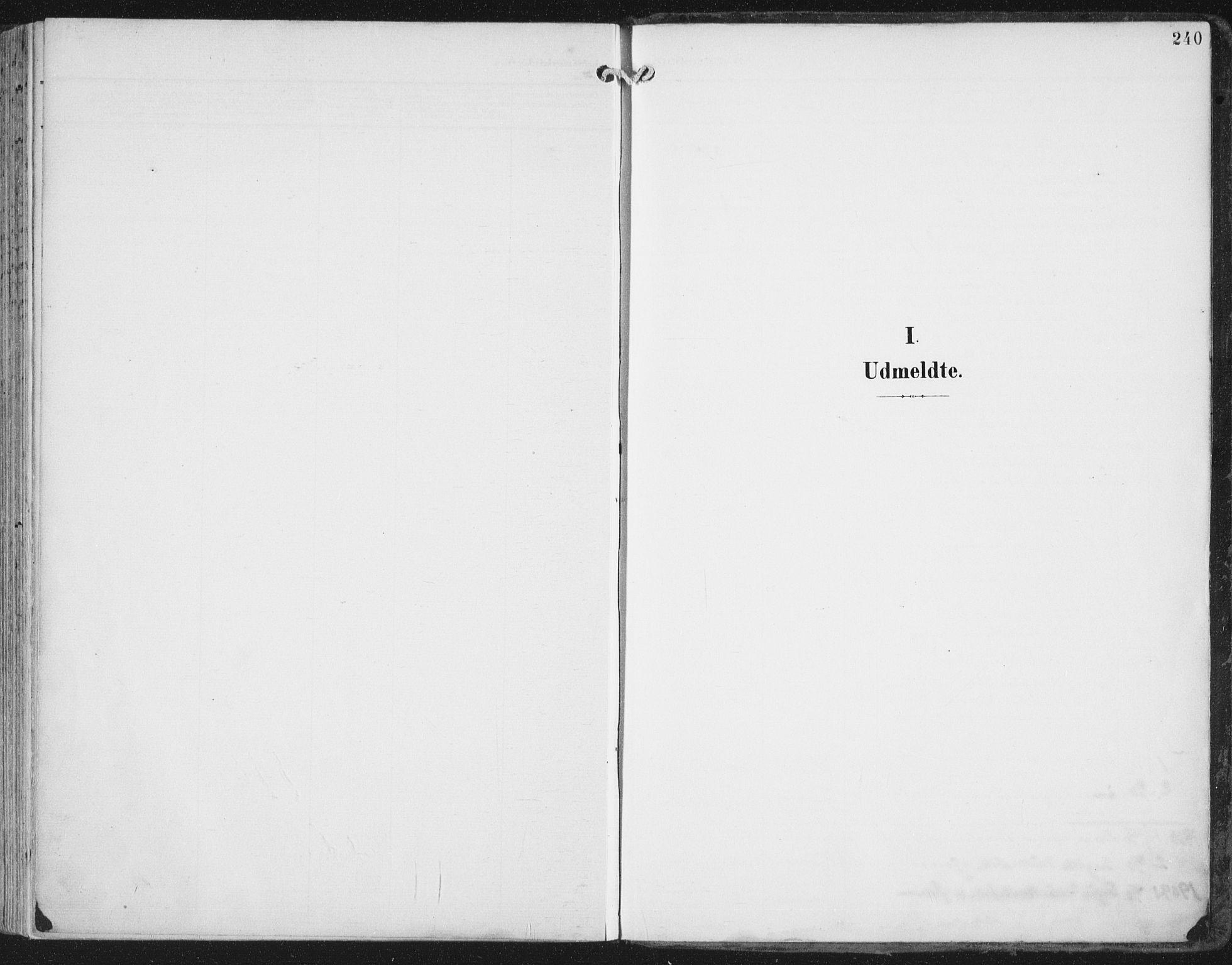 SAT, Ministerialprotokoller, klokkerbøker og fødselsregistre - Nord-Trøndelag, 786/L0688: Ministerialbok nr. 786A04, 1899-1912, s. 240