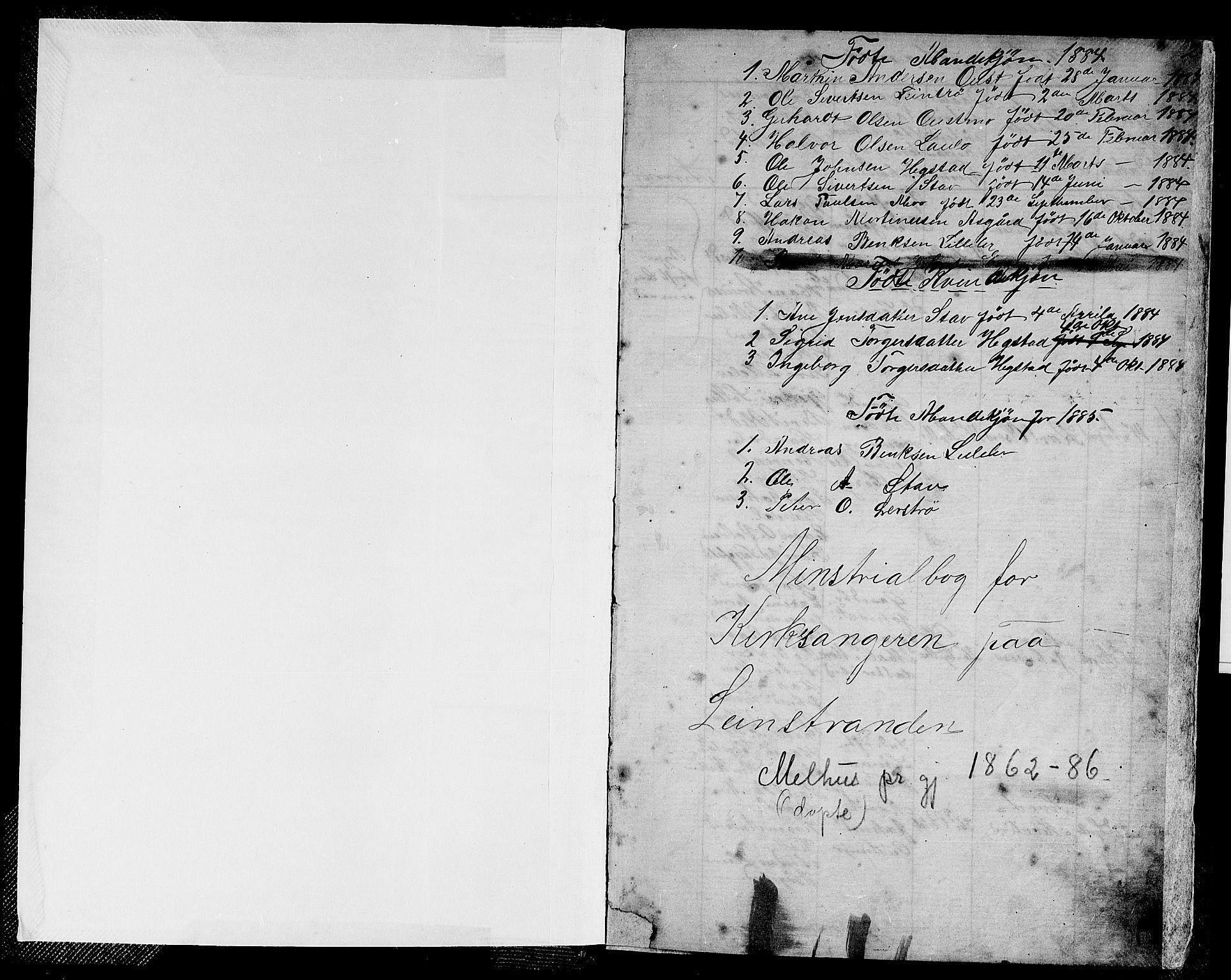SAT, Ministerialprotokoller, klokkerbøker og fødselsregistre - Sør-Trøndelag, 613/L0394: Klokkerbok nr. 613C02, 1862-1886, s. 2