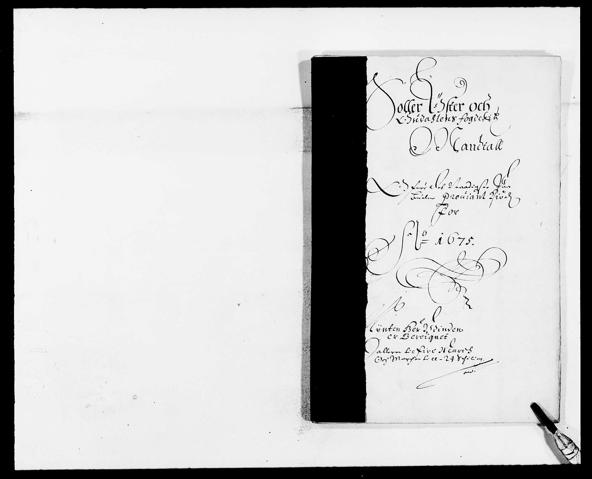RA, Rentekammeret inntil 1814, Reviderte regnskaper, Fogderegnskap, R13/L0809: Fogderegnskap Solør, Odal og Østerdal, 1675, s. 421