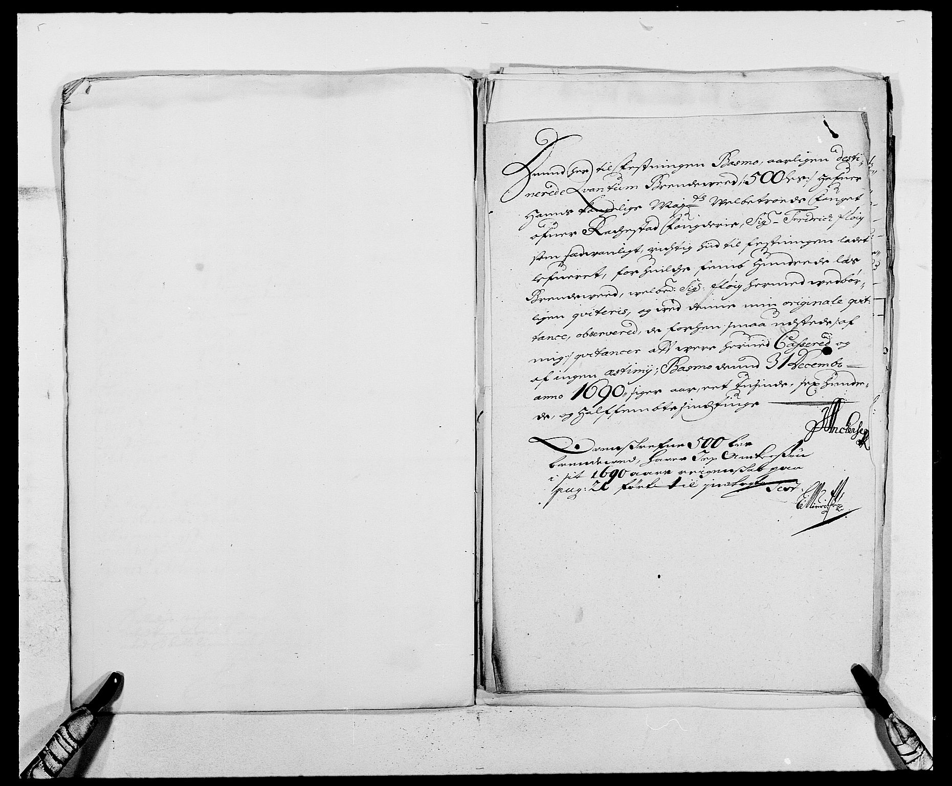 RA, Rentekammeret inntil 1814, Reviderte regnskaper, Fogderegnskap, R05/L0277: Fogderegnskap Rakkestad, 1689-1690, s. 376