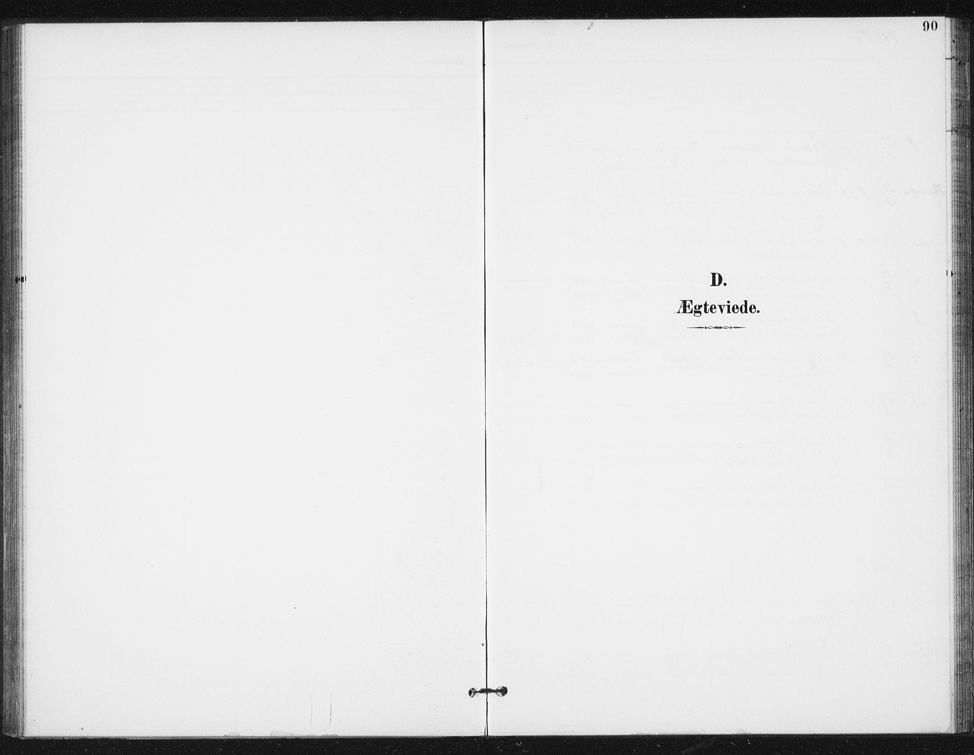 SAT, Ministerialprotokoller, klokkerbøker og fødselsregistre - Sør-Trøndelag, 654/L0664: Ministerialbok nr. 654A02, 1895-1907, s. 90
