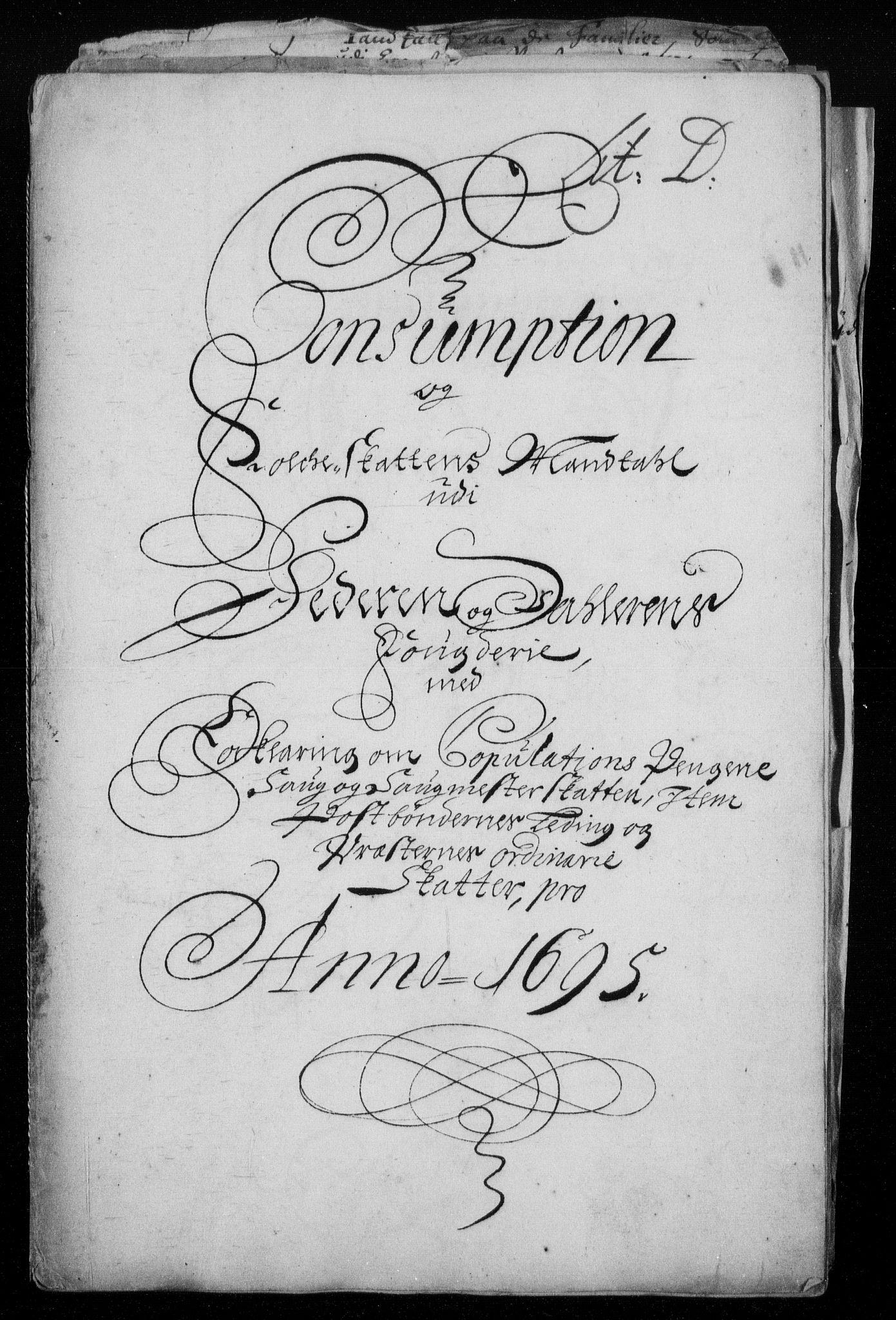 RA, Rentekammeret inntil 1814, Reviderte regnskaper, Fogderegnskap, R46/L2728: Fogderegnskap Jæren og Dalane, 1694-1696, s. 254