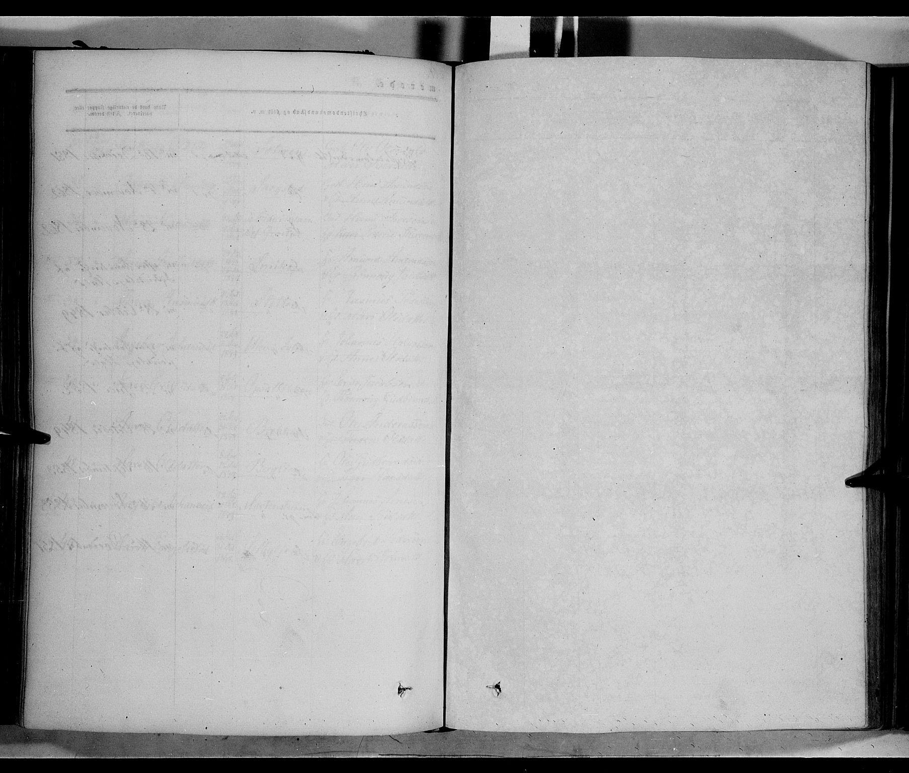 SAH, Nord-Fron prestekontor, Ministerialbok nr. 1, 1851-1864
