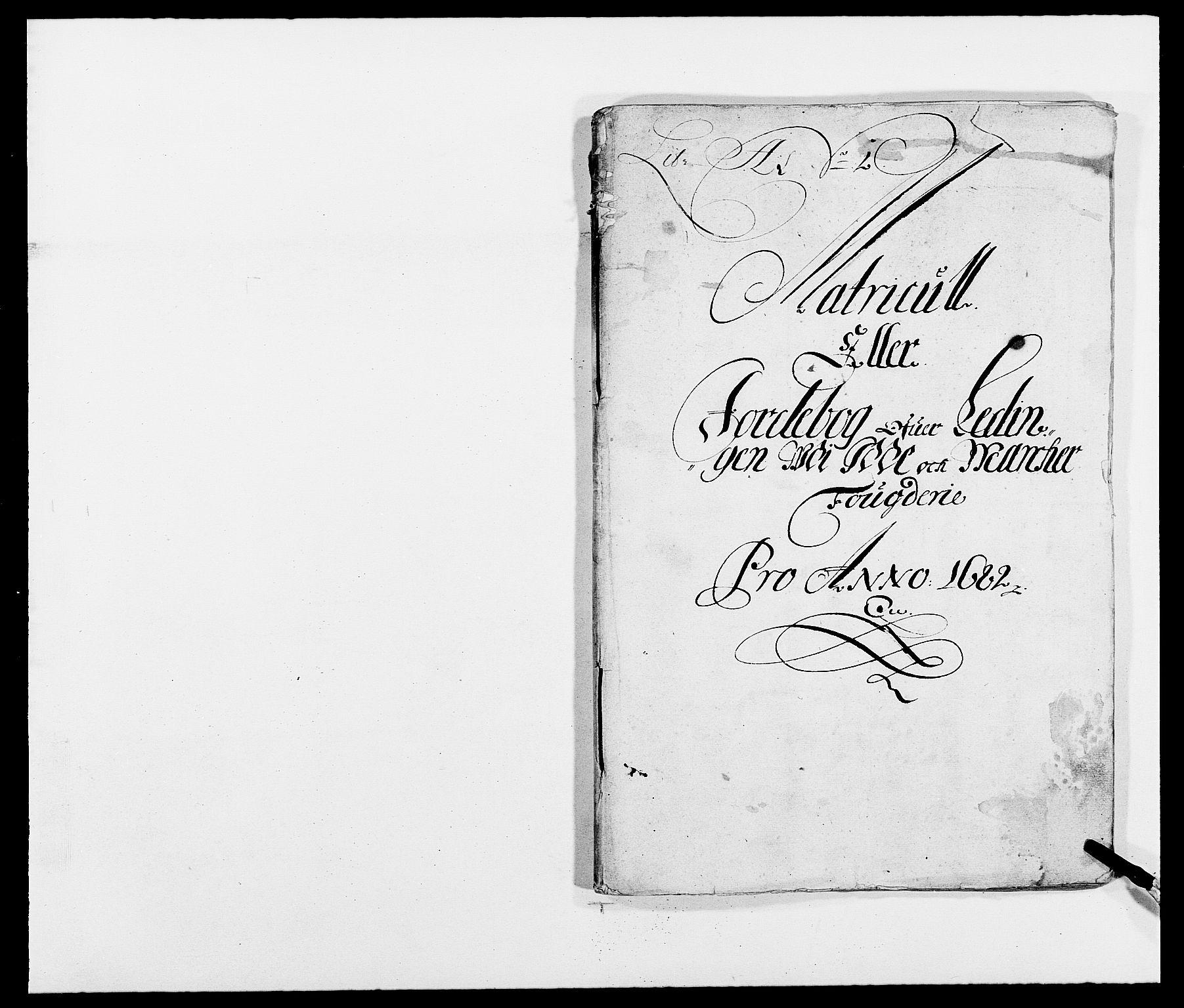 RA, Rentekammeret inntil 1814, Reviderte regnskaper, Fogderegnskap, R01/L0004: Fogderegnskap Idd og Marker , 1682-1683, s. 11