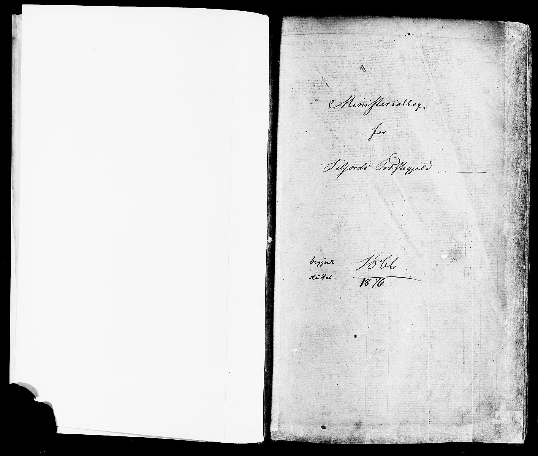 SAKO, Seljord kirkebøker, F/Fa/L0013: Ministerialbok nr. I 13, 1866-1876