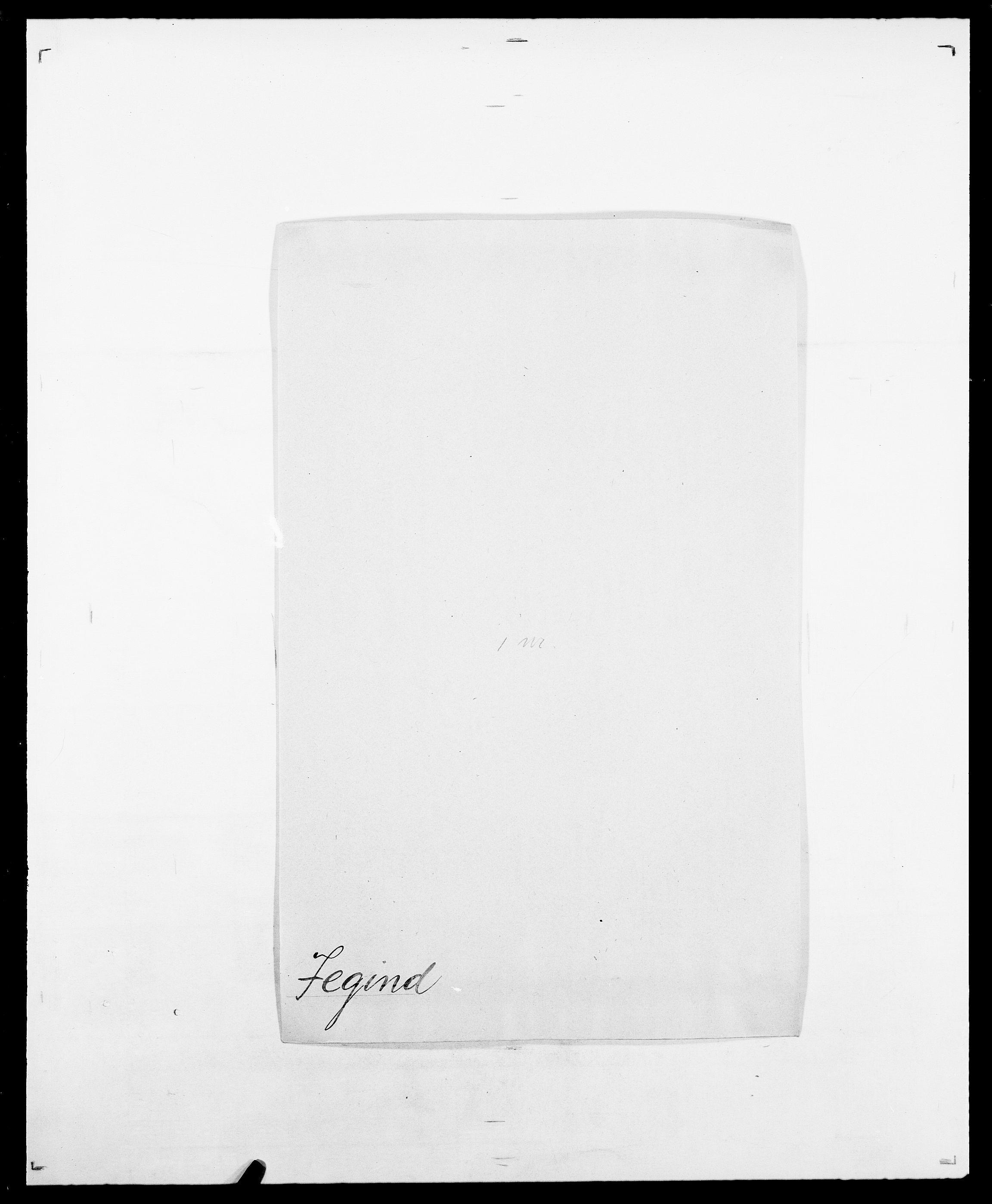 SAO, Delgobe, Charles Antoine - samling, D/Da/L0019: van der Hude - Joys, s. 623