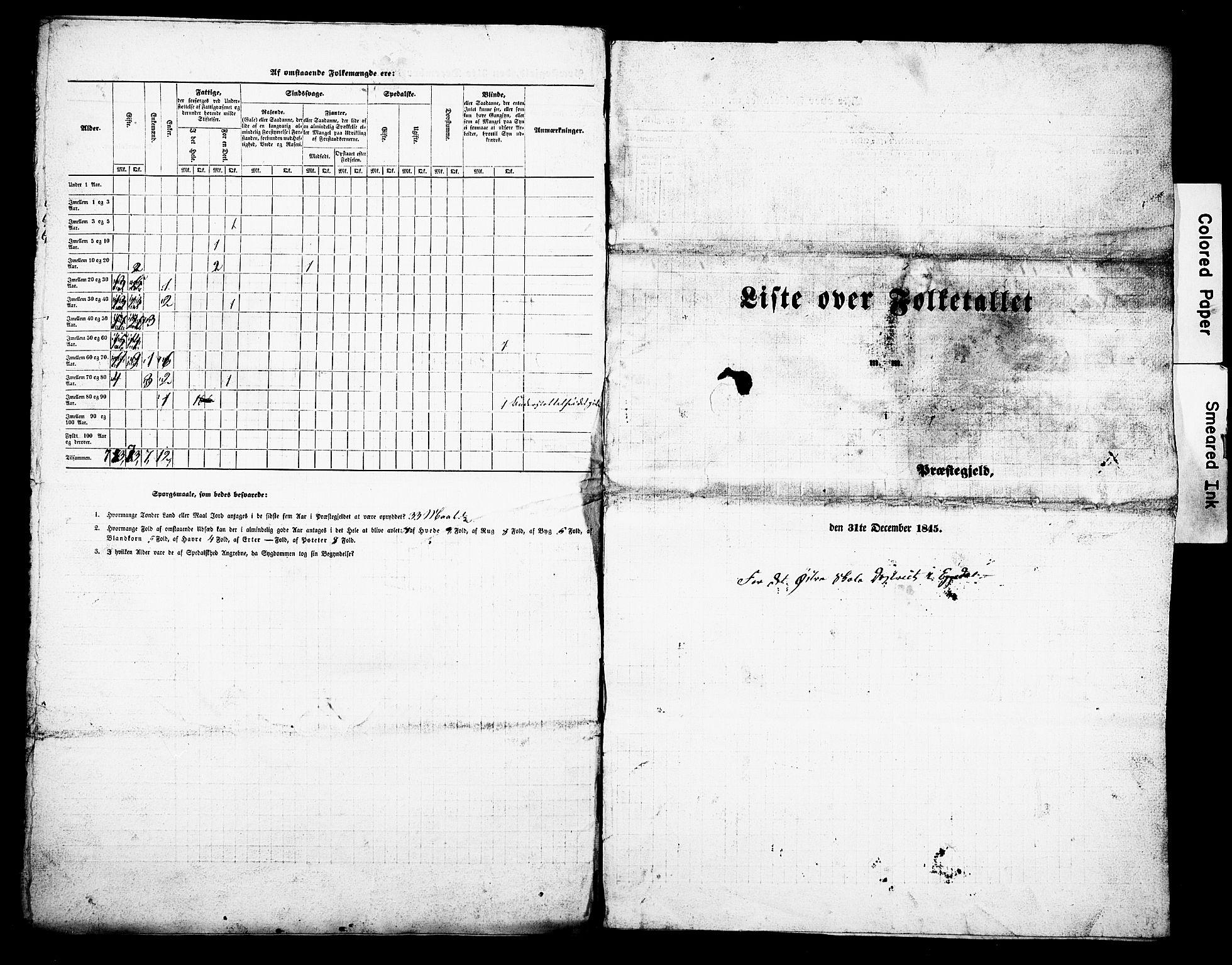 Folketelling 1845 for 0621P Sigdal prestegjeld, 1845, s. 13