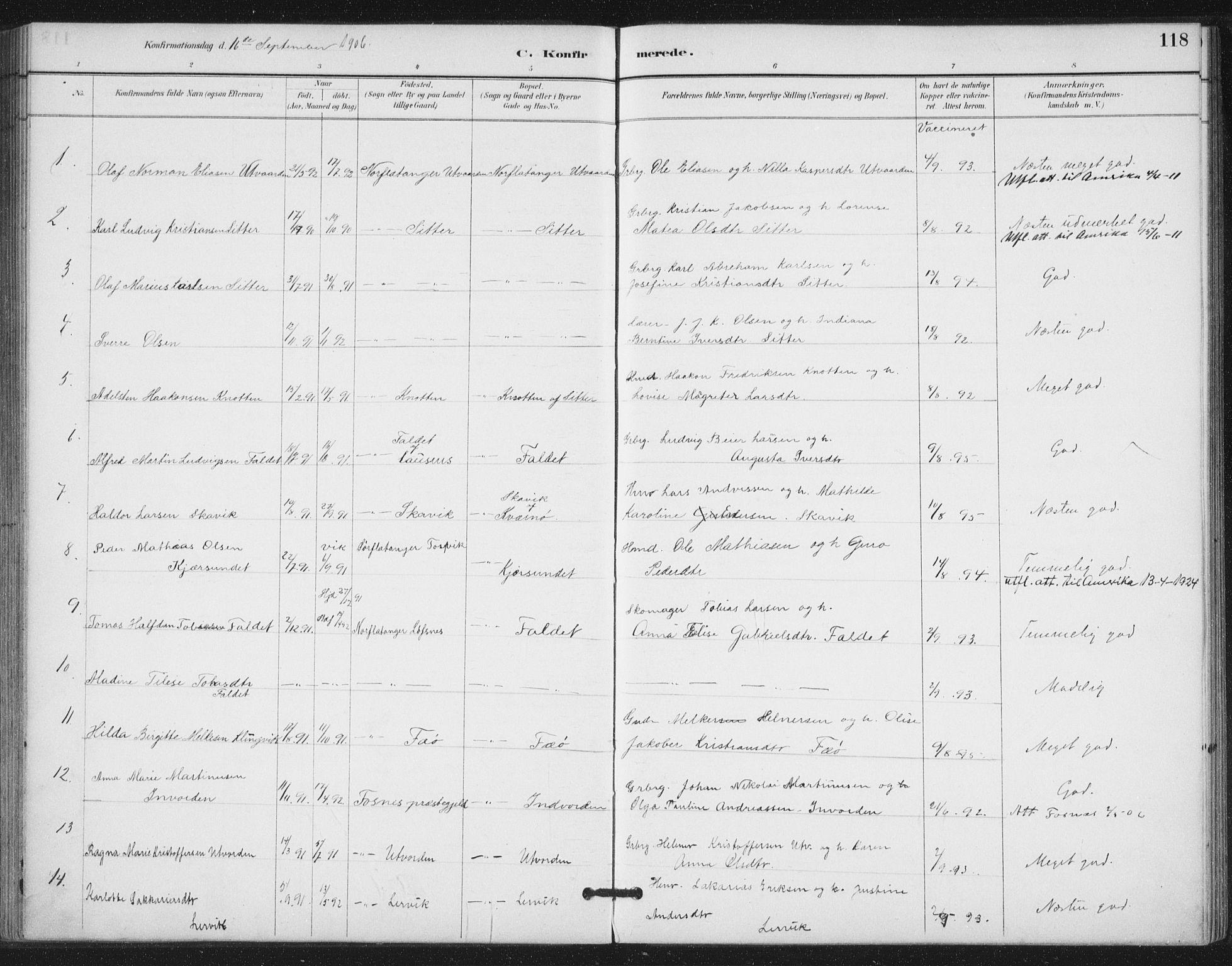 SAT, Ministerialprotokoller, klokkerbøker og fødselsregistre - Nord-Trøndelag, 772/L0603: Ministerialbok nr. 772A01, 1885-1912, s. 118