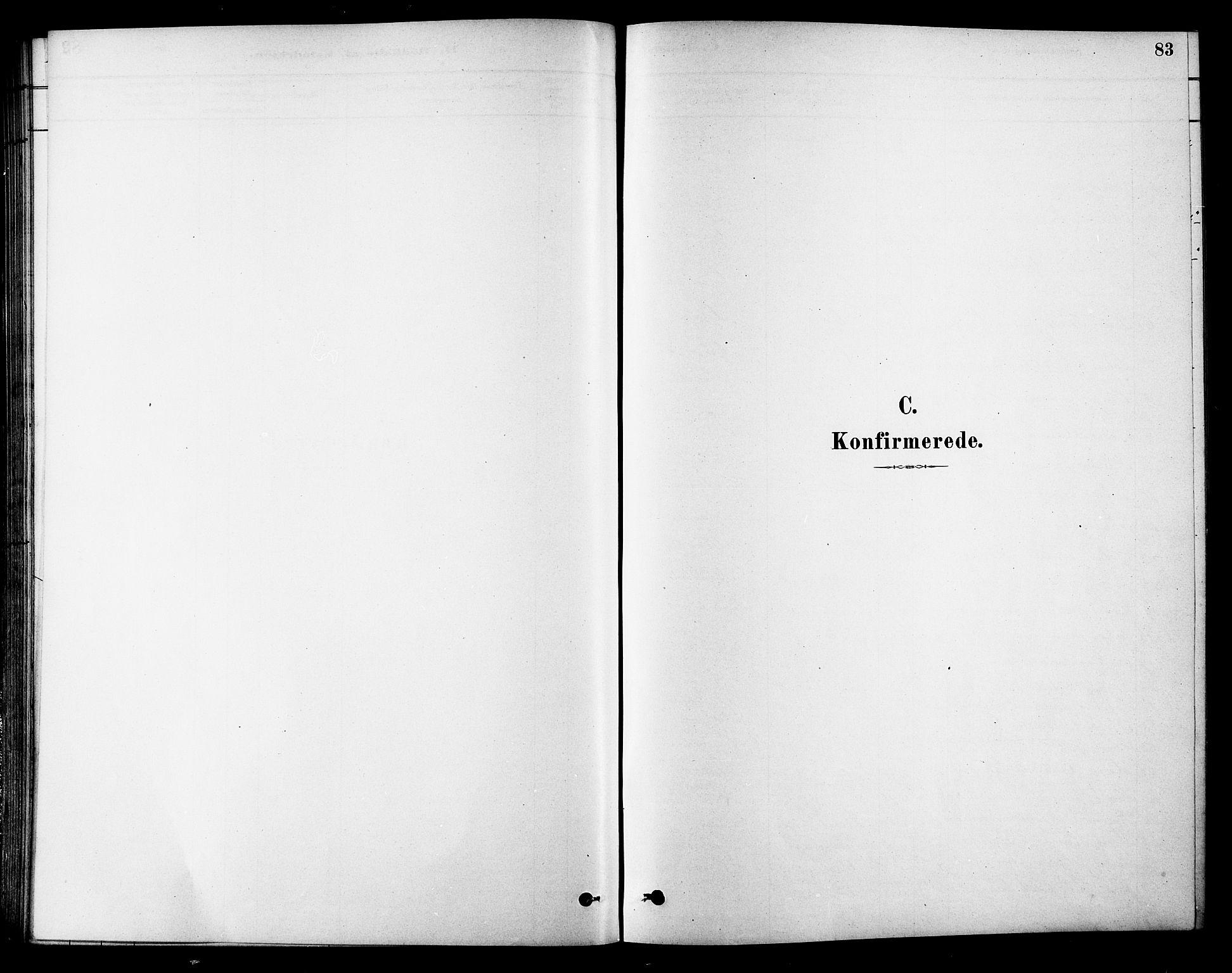 SAT, Ministerialprotokoller, klokkerbøker og fødselsregistre - Sør-Trøndelag, 686/L0983: Ministerialbok nr. 686A01, 1879-1890, s. 83