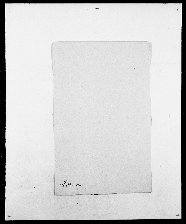 SAO, Delgobe, Charles Antoine - samling, D/Da/L0027: Morath - v. Møsting, s. 7
