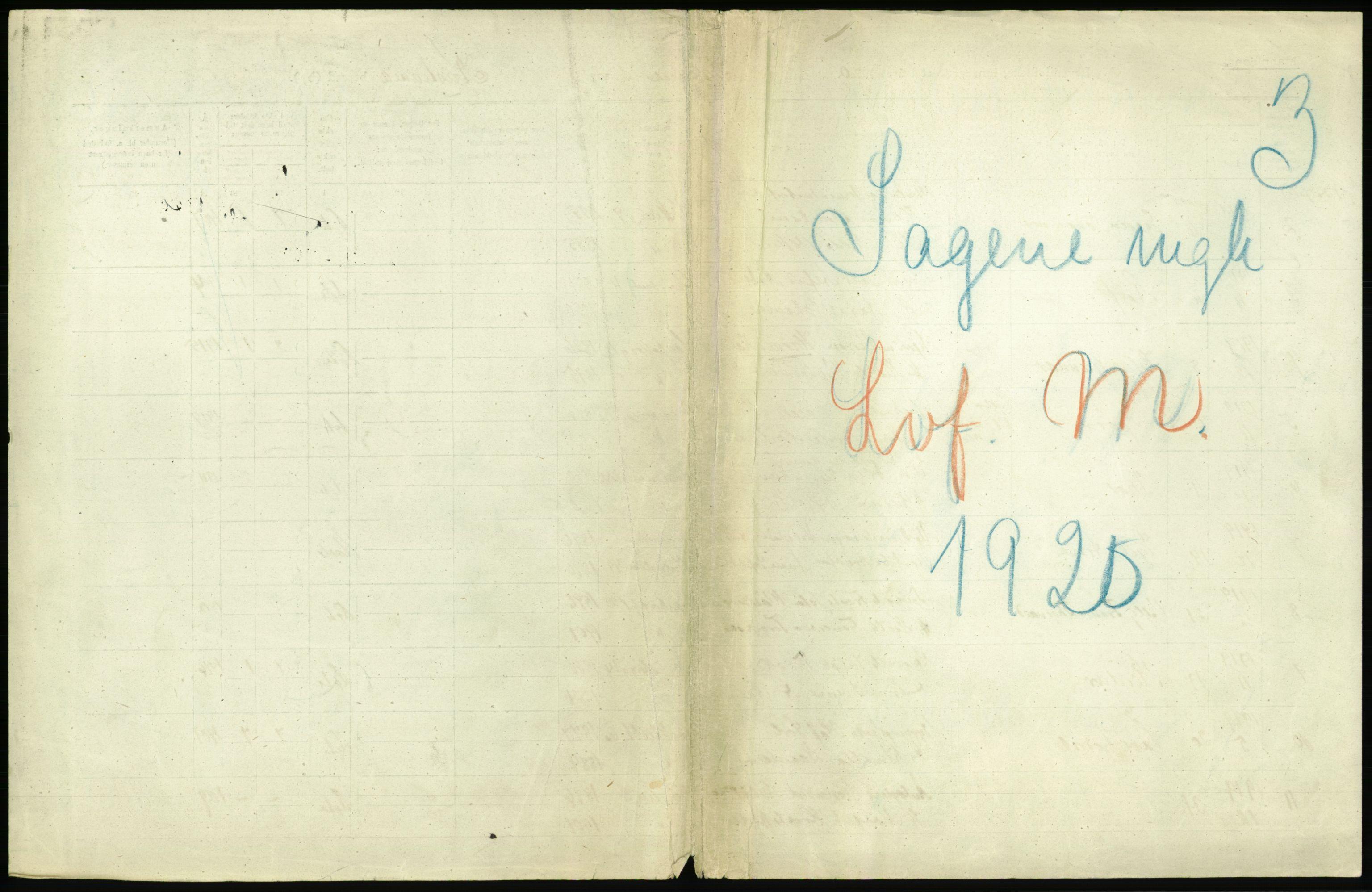RA, Statistisk sentralbyrå, Sosiodemografiske emner, Befolkning, D/Df/Dfb/Dfbj/L0010: Kristiania: Levendefødte menn og kvinner. Dødfødte., 1920