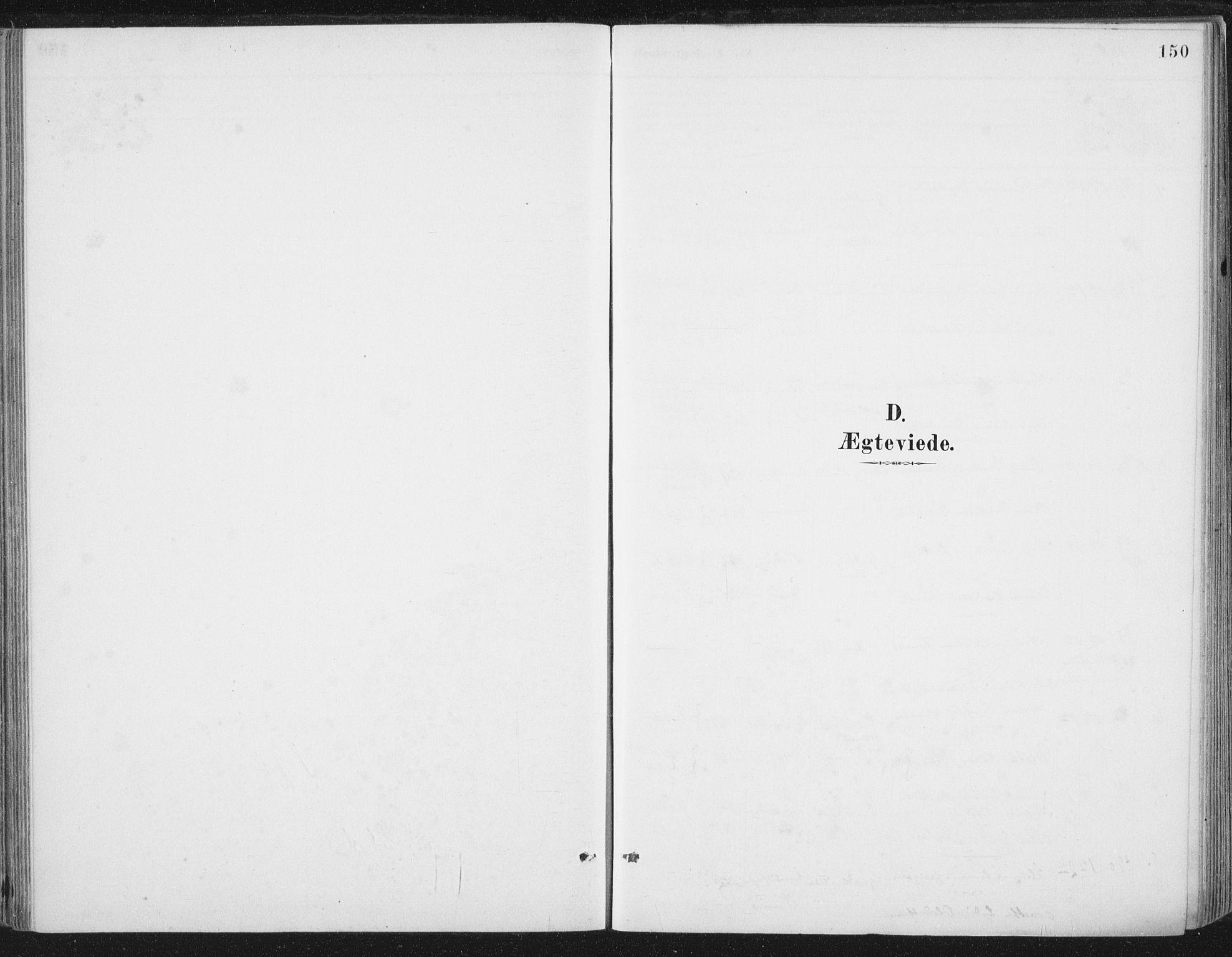 SAT, Ministerialprotokoller, klokkerbøker og fødselsregistre - Nord-Trøndelag, 784/L0673: Ministerialbok nr. 784A08, 1888-1899, s. 150