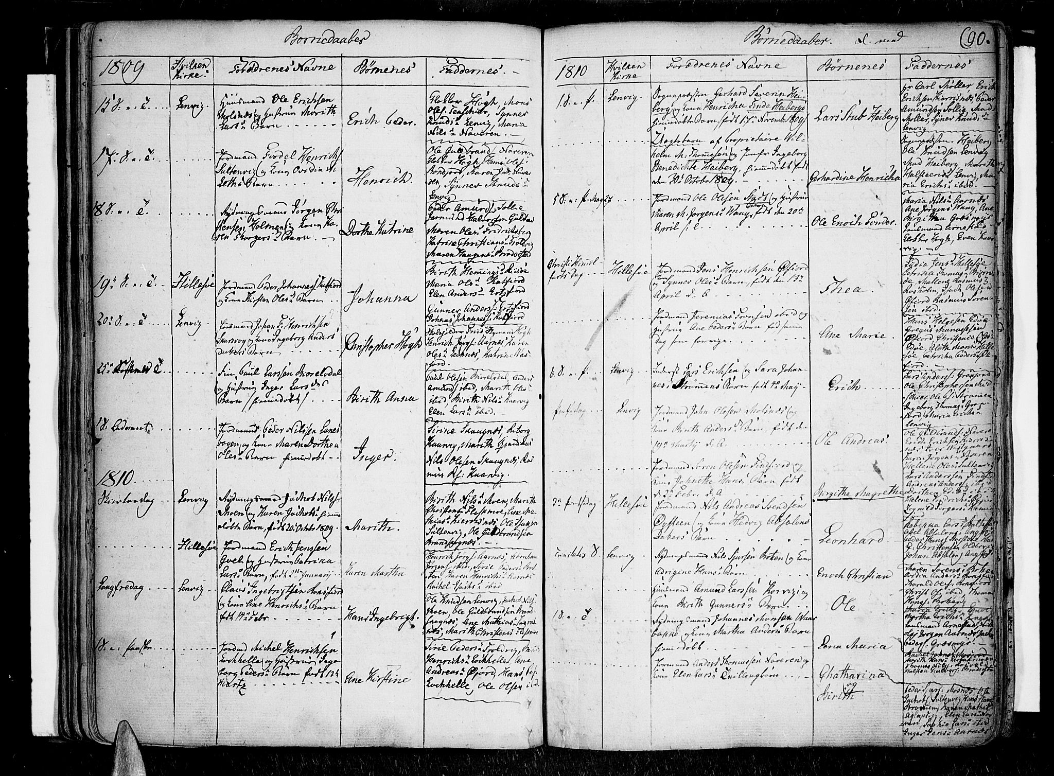 SATØ, Lenvik sokneprestembete, H/Ha: Ministerialbok nr. 2, 1784-1820, s. 90
