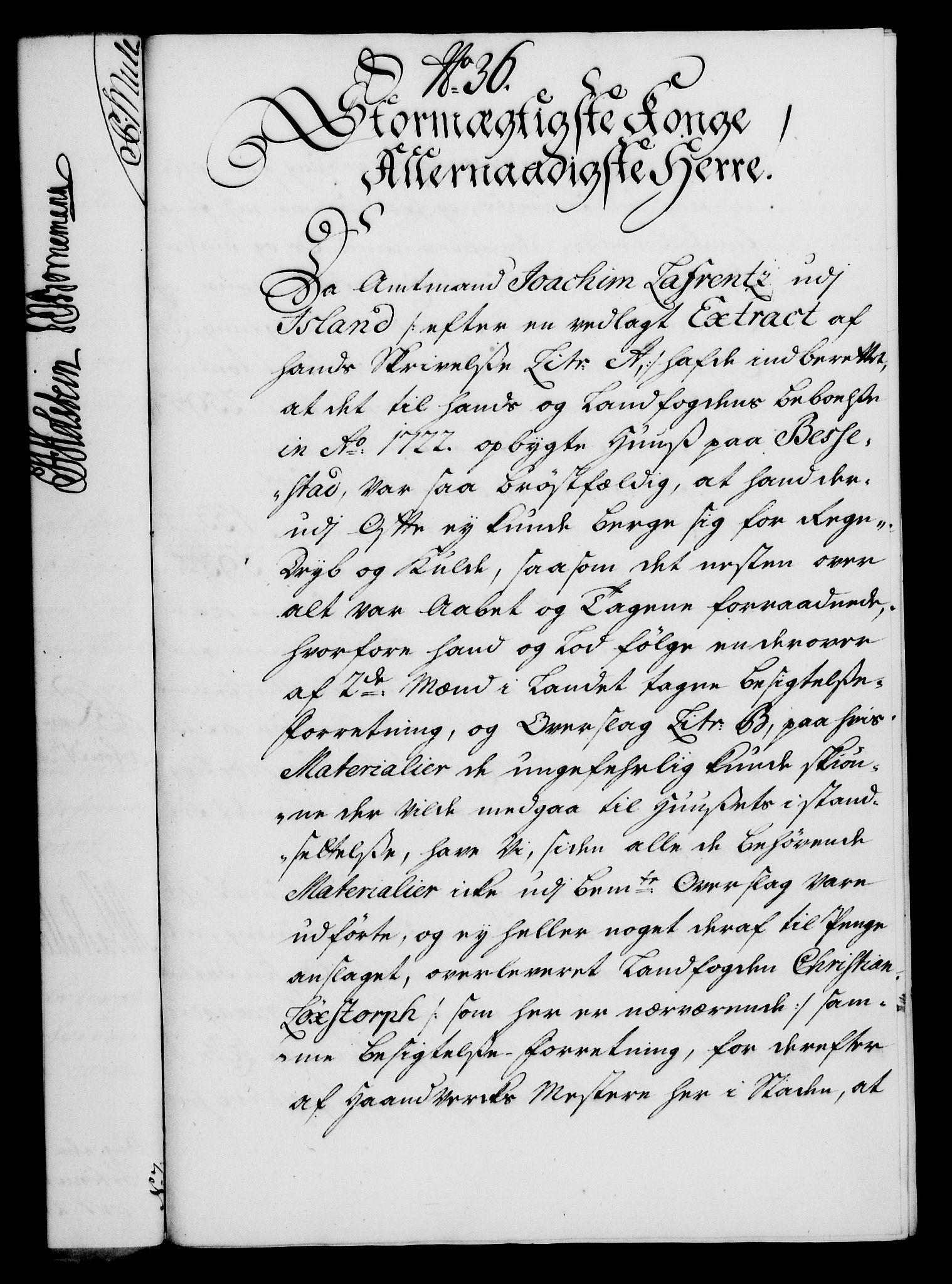 RA, Rentekammeret, Kammerkanselliet, G/Gf/Gfa/L0019: Norsk relasjons- og resolusjonsprotokoll (merket RK 52.19), 1736, s. 242