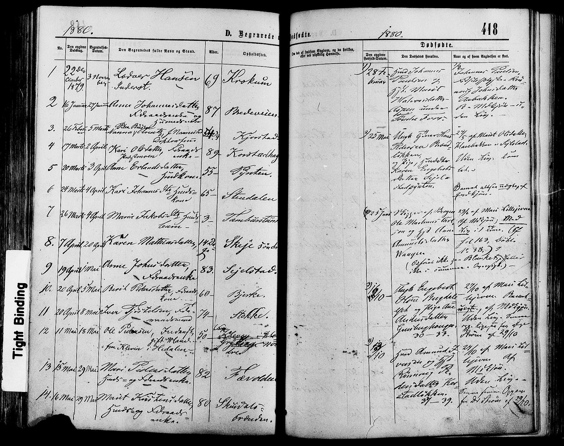 SAH, Sør-Fron prestekontor, H/Ha/Haa/L0002: Ministerialbok nr. 2, 1864-1880, s. 418