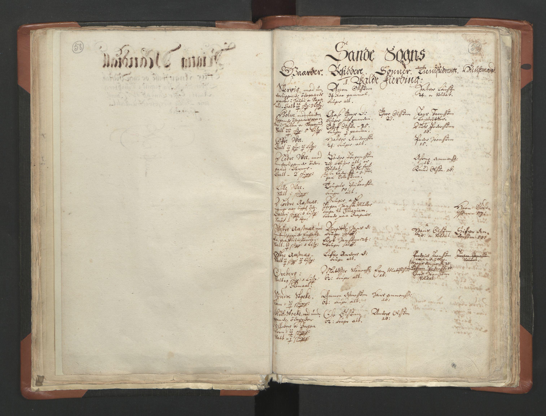 RA, Sogneprestenes manntall 1664-1666, nr. 10: Tønsberg prosti, 1664-1666, s. 58-59