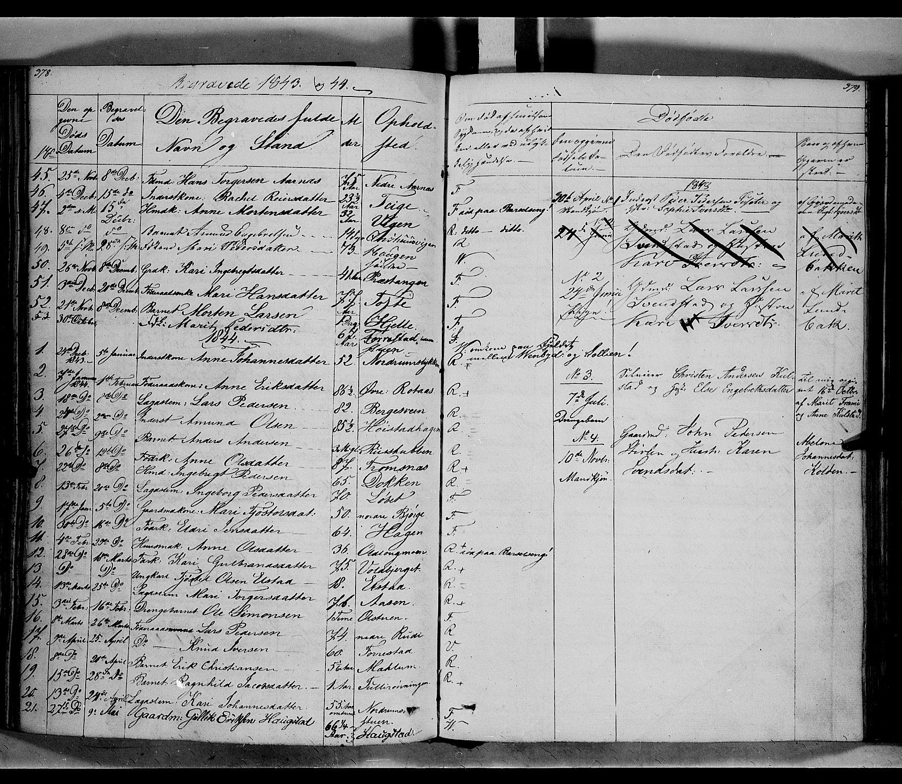 SAH, Ringebu prestekontor, Ministerialbok nr. 5, 1839-1848, s. 378-379