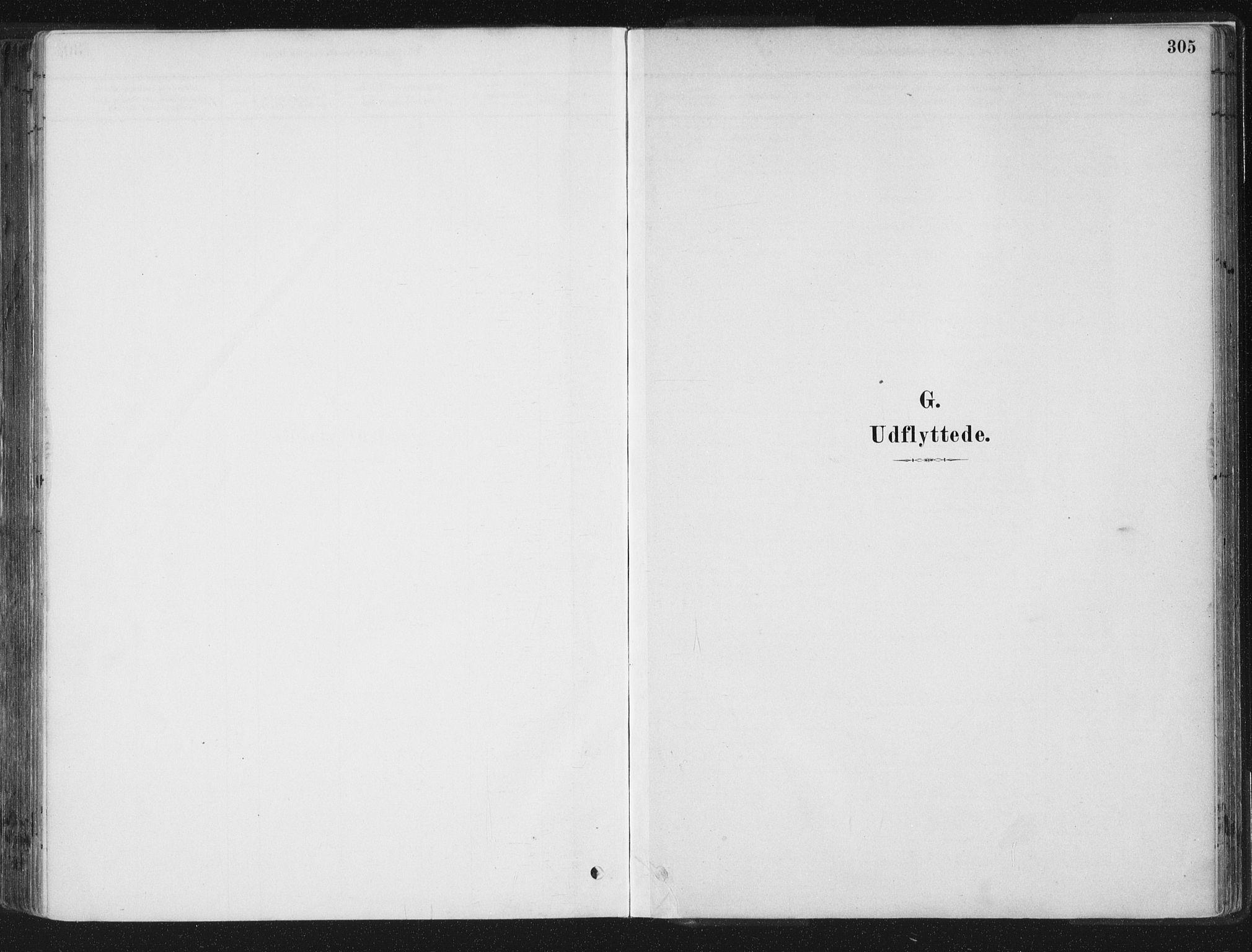 SAT, Ministerialprotokoller, klokkerbøker og fødselsregistre - Sør-Trøndelag, 659/L0739: Ministerialbok nr. 659A09, 1879-1893, s. 305
