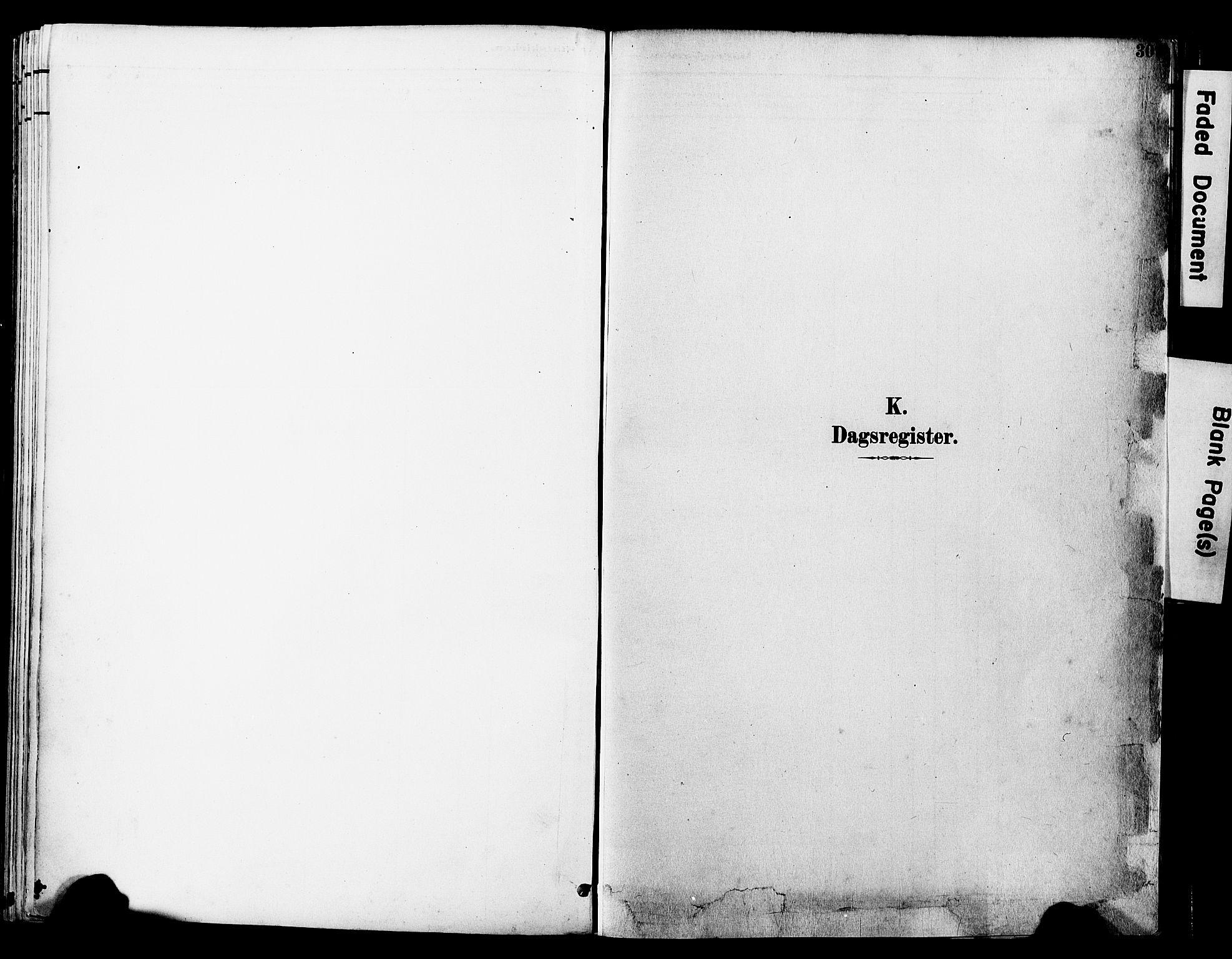SAT, Ministerialprotokoller, klokkerbøker og fødselsregistre - Nord-Trøndelag, 774/L0628: Ministerialbok nr. 774A02, 1887-1903, s. 309