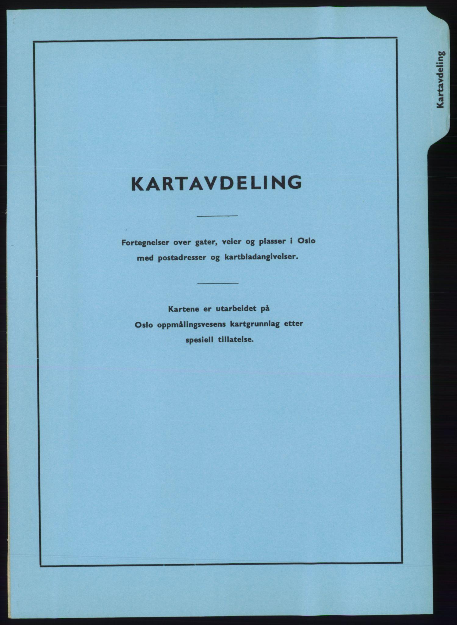 PUBL, Kristiania/Oslo adressebok, 1970-1971