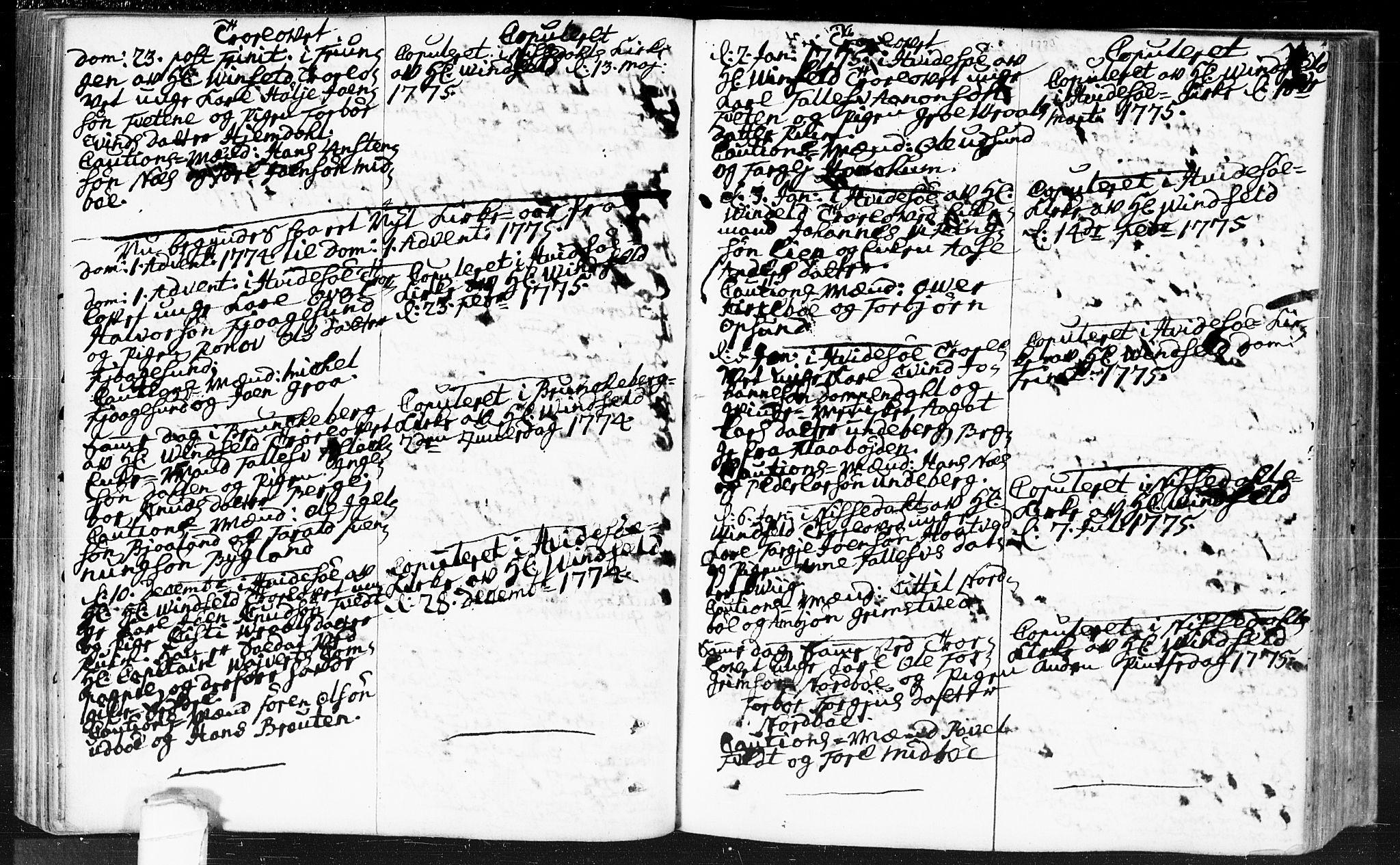 SAKO, Kviteseid kirkebøker, F/Fa/L0002: Ministerialbok nr. I 2, 1773-1786, s. 103